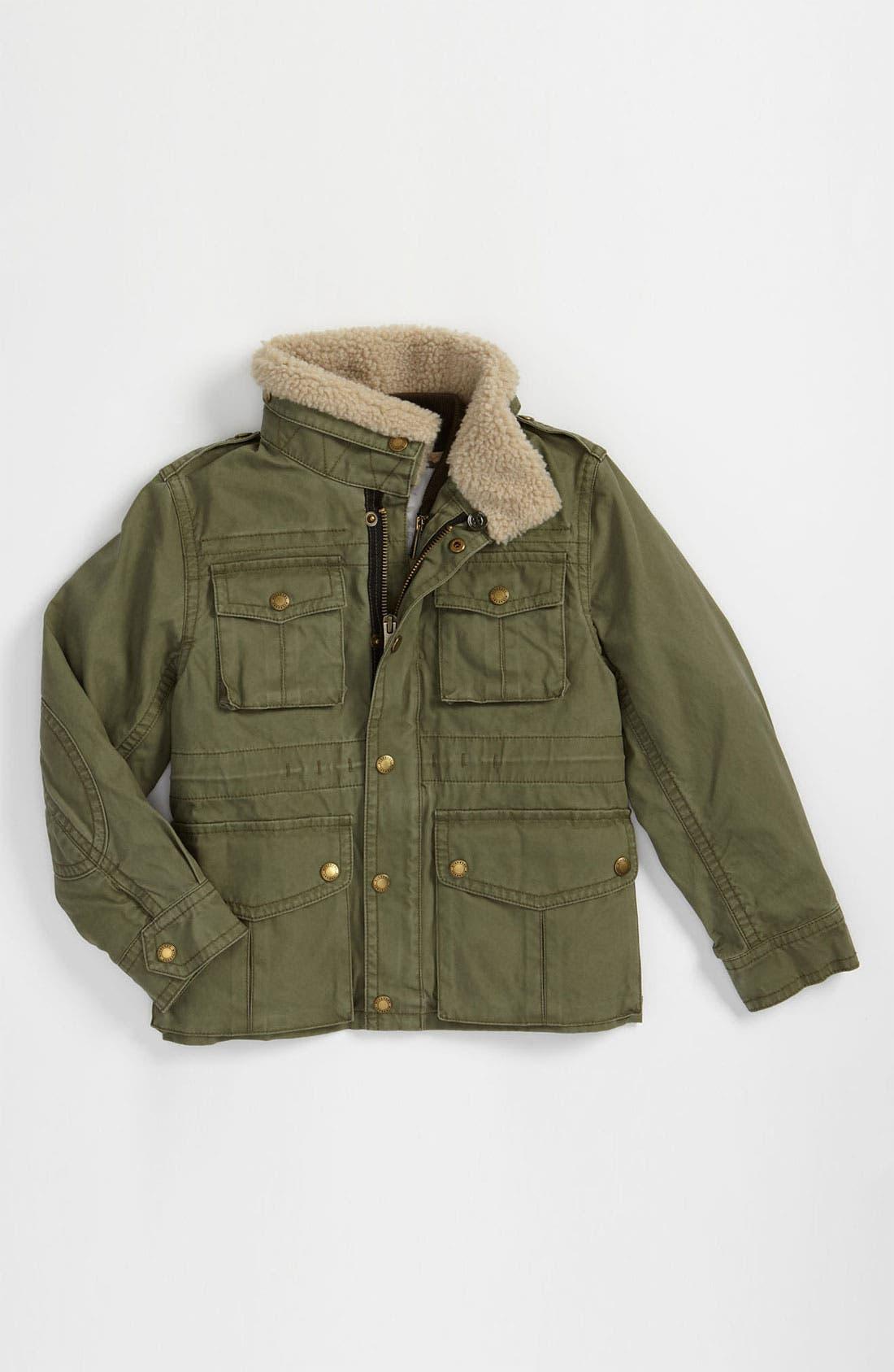 Main Image - Burberry Layered Jacket (Big Boys)