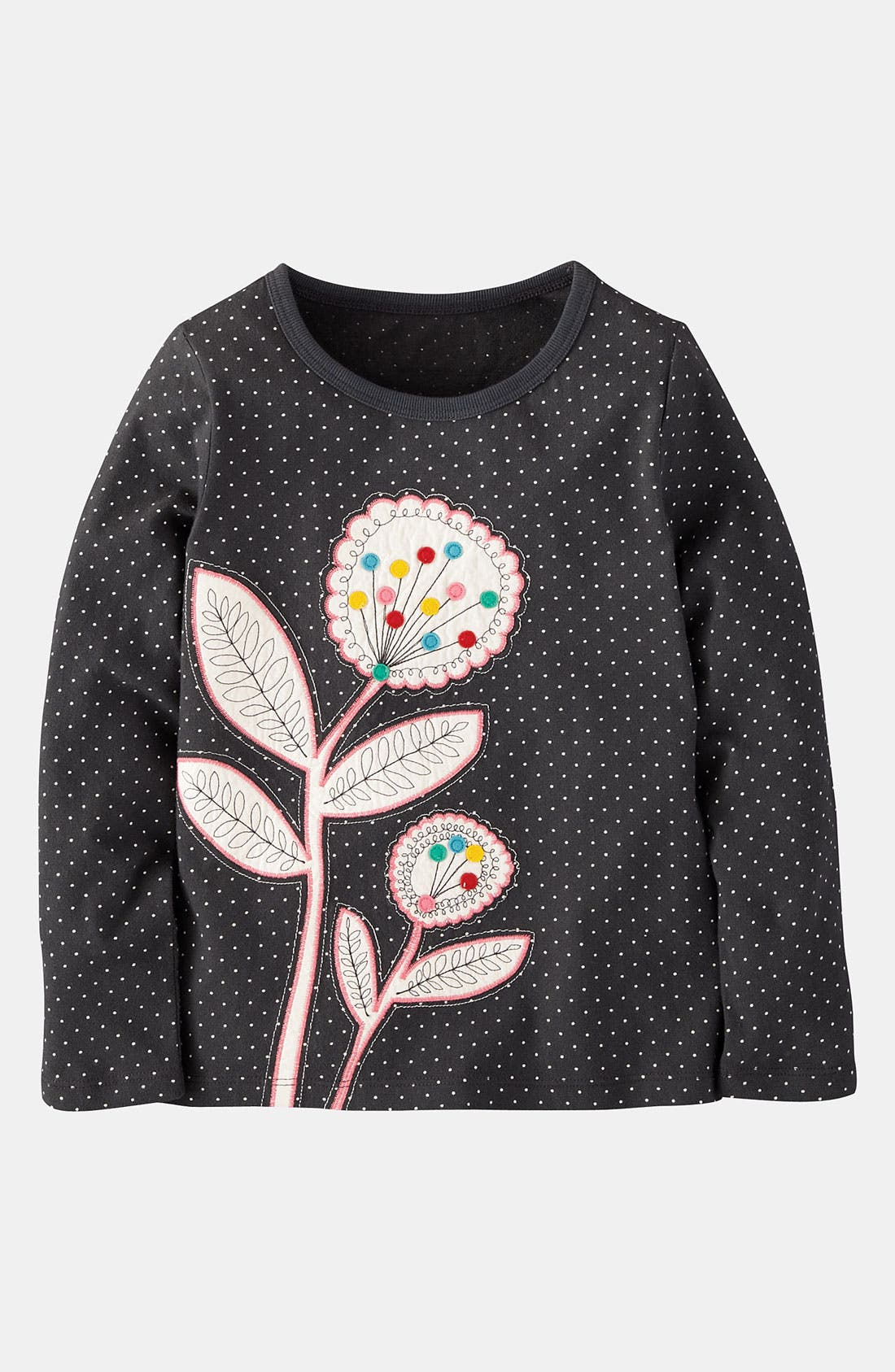 Alternate Image 1 Selected - Mini Boden 'Nordic Appliqué' Tee (Toddler, Little Girls & Big Girls)