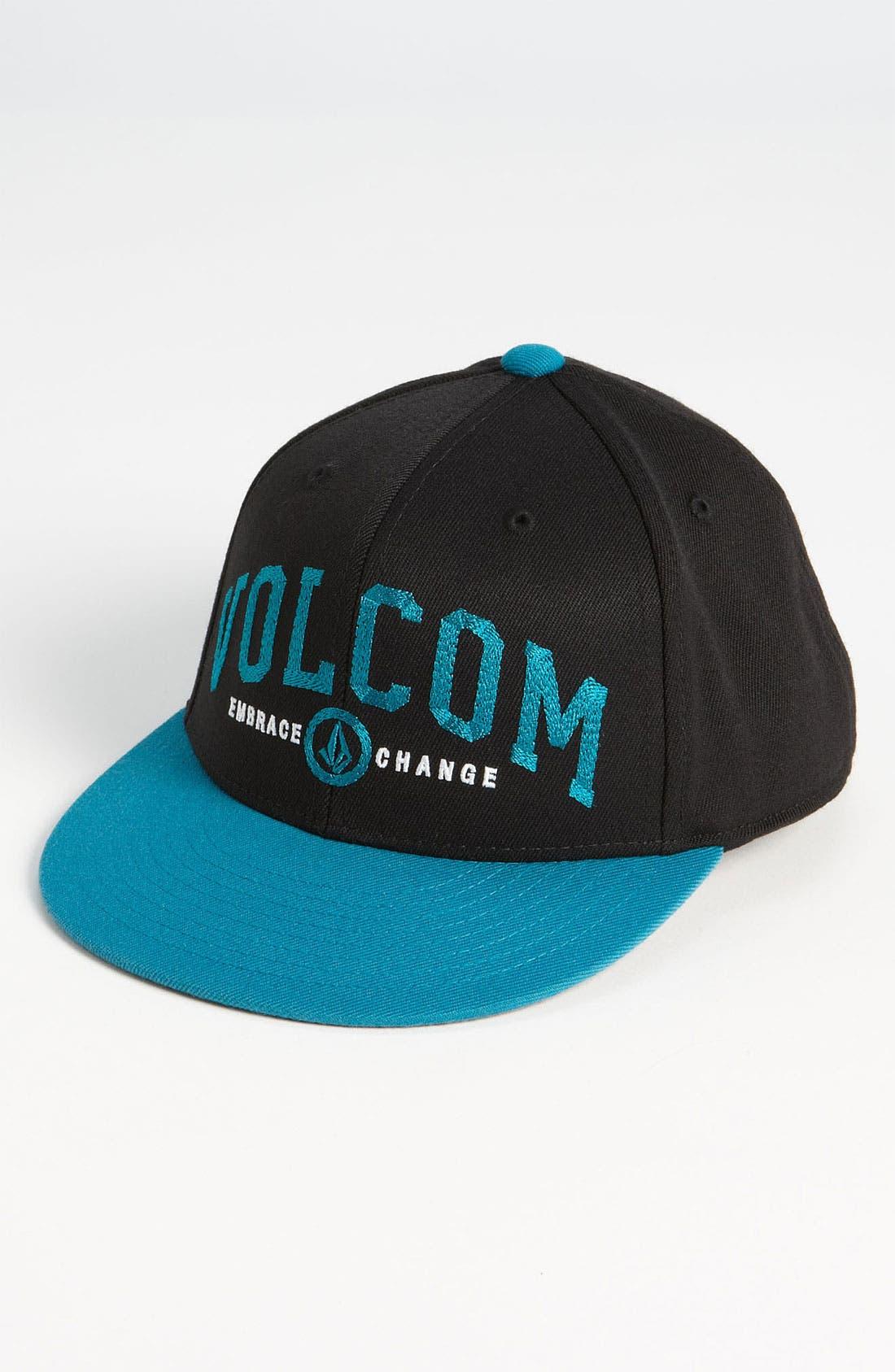 Main Image - Volcom 'Varsity' Baseball Hat (Boys)