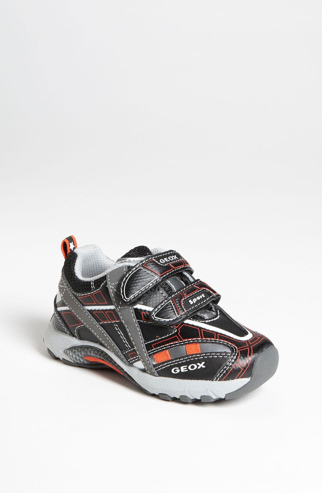 Alternate Image 1 Selected - Geox 'Stark' Sneaker (Walker & Toddler)