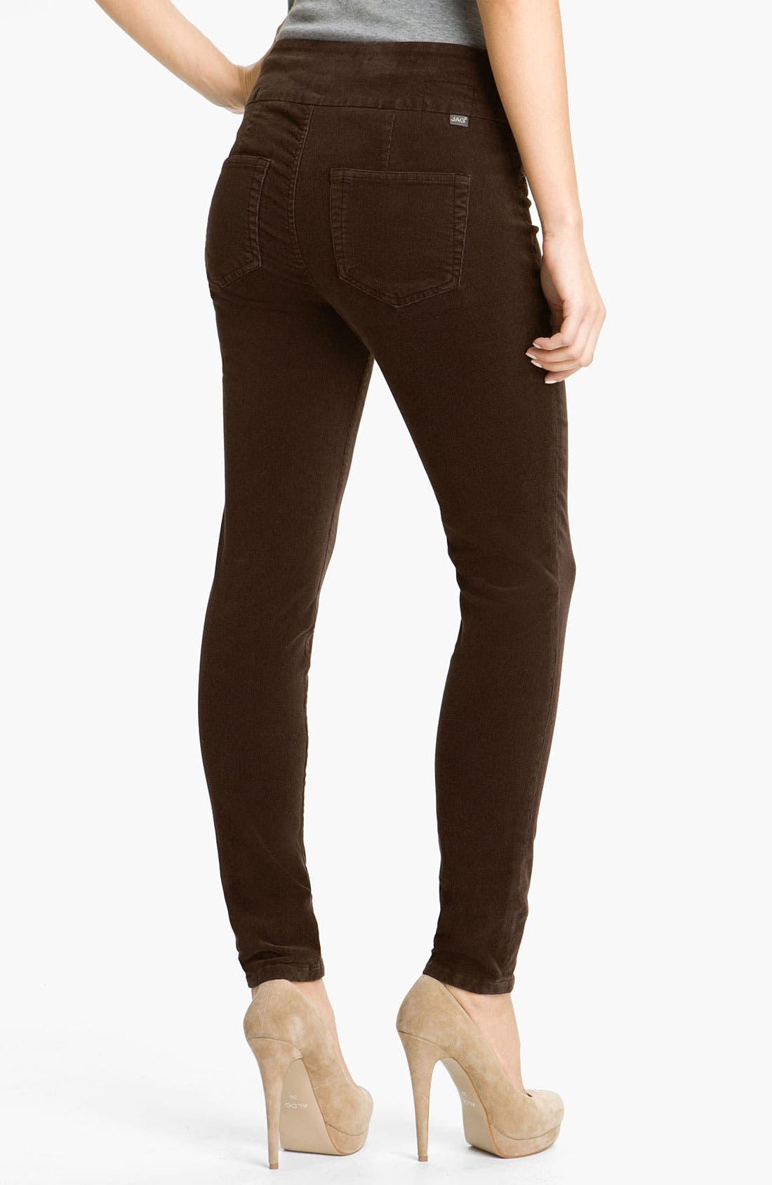 Alternate Image 1 Selected - Jag Jeans 'Nikki' Corduroy Leggings