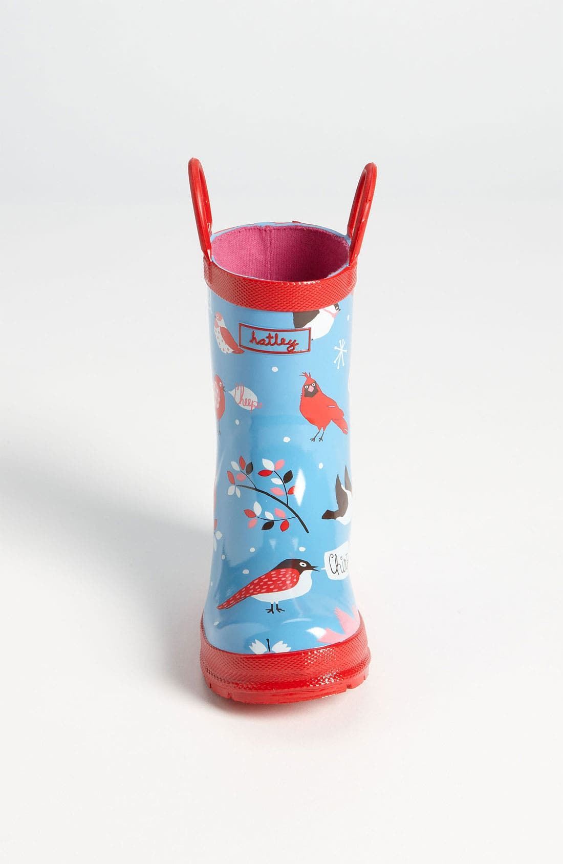 Alternate Image 2  - Hatley 'Winter Birds' Rain Boot (Walker, Toddler & Little Kid)
