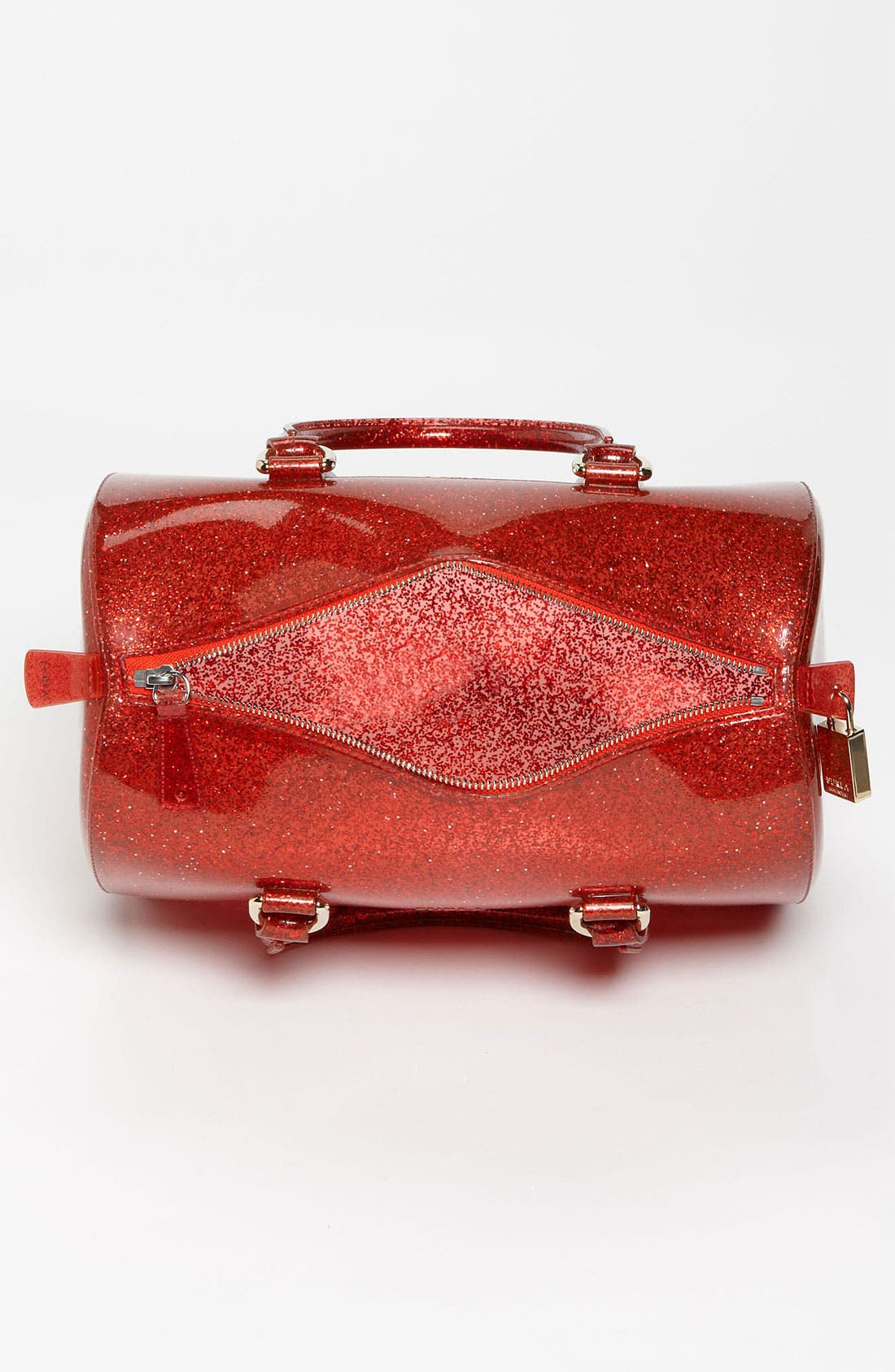 Alternate Image 3  - Furla 'Candy - Glitter' Rubber Satchel