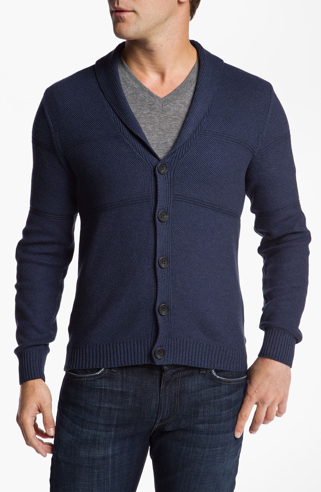 Main Image - 7 For All Mankind® Shawl Collar Cardigan