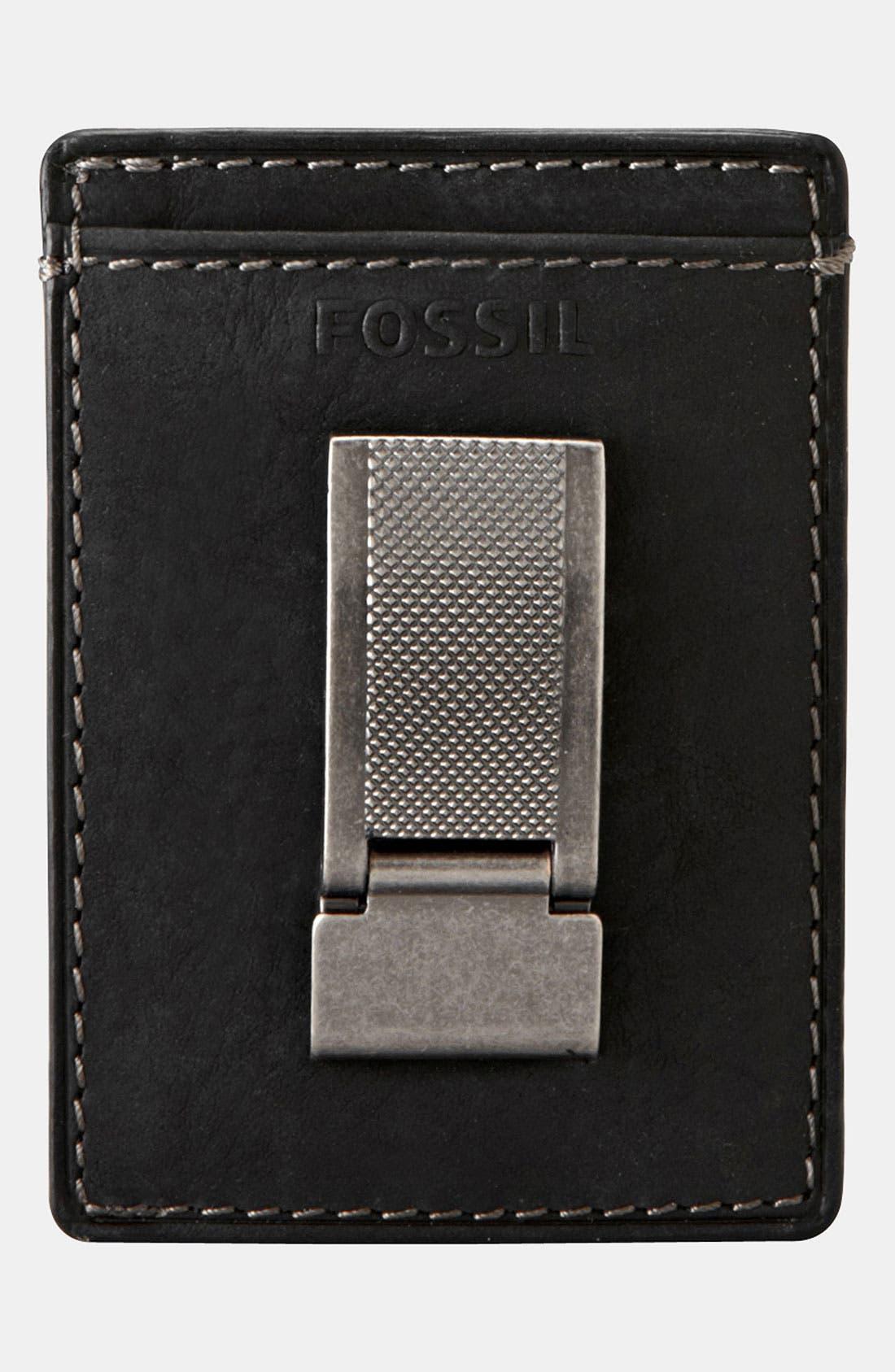 Alternate Image 2  - Fossil Money Clip Card Case