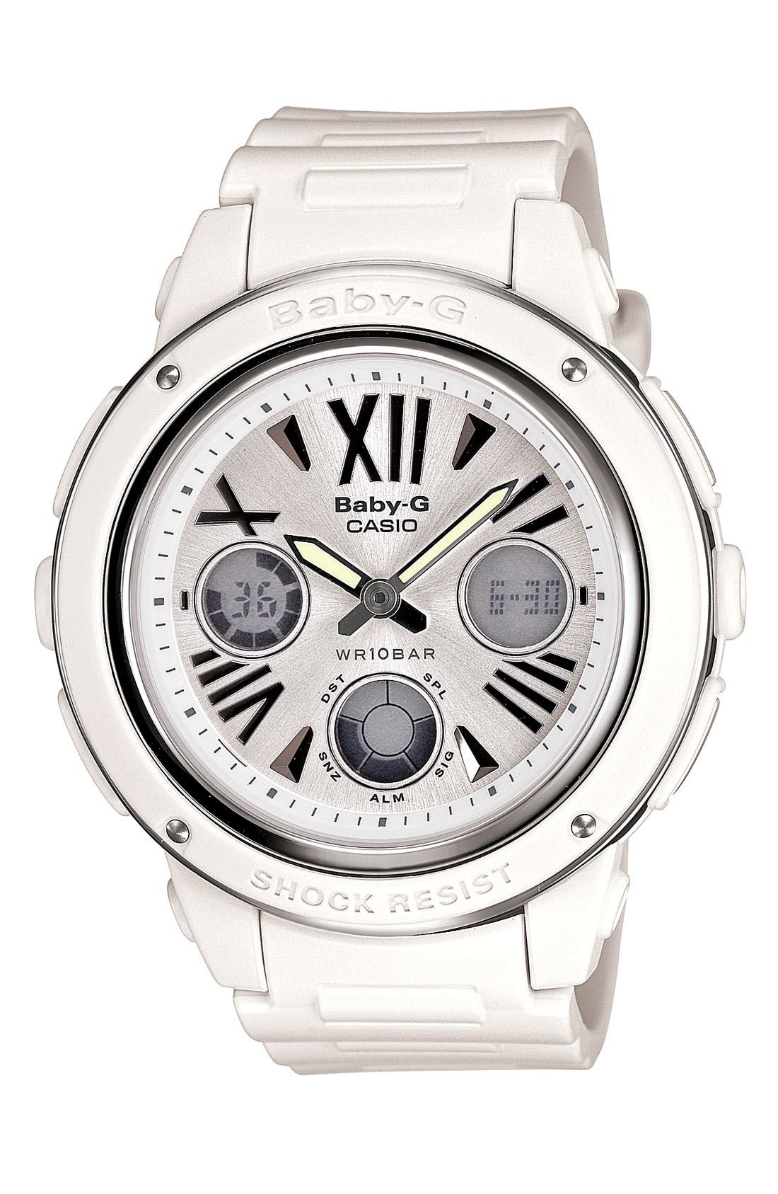 Alternate Image 1 Selected - Baby-G Dual Movement Watch, 42mm