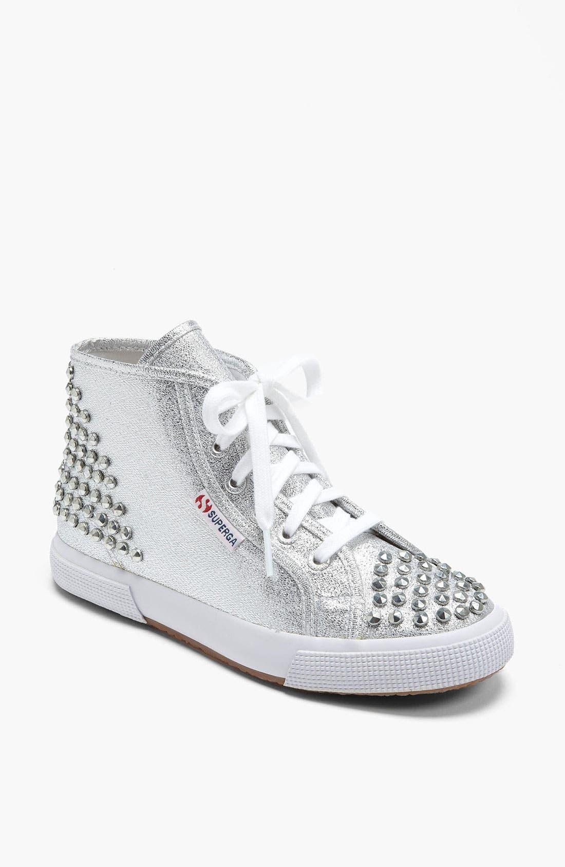 Alternate Image 1 Selected - Superga 'Lamé Studs' Sneaker (Women)