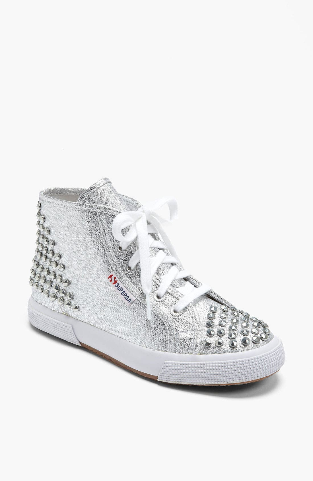 Main Image - Superga 'Lamé Studs' Sneaker (Women)