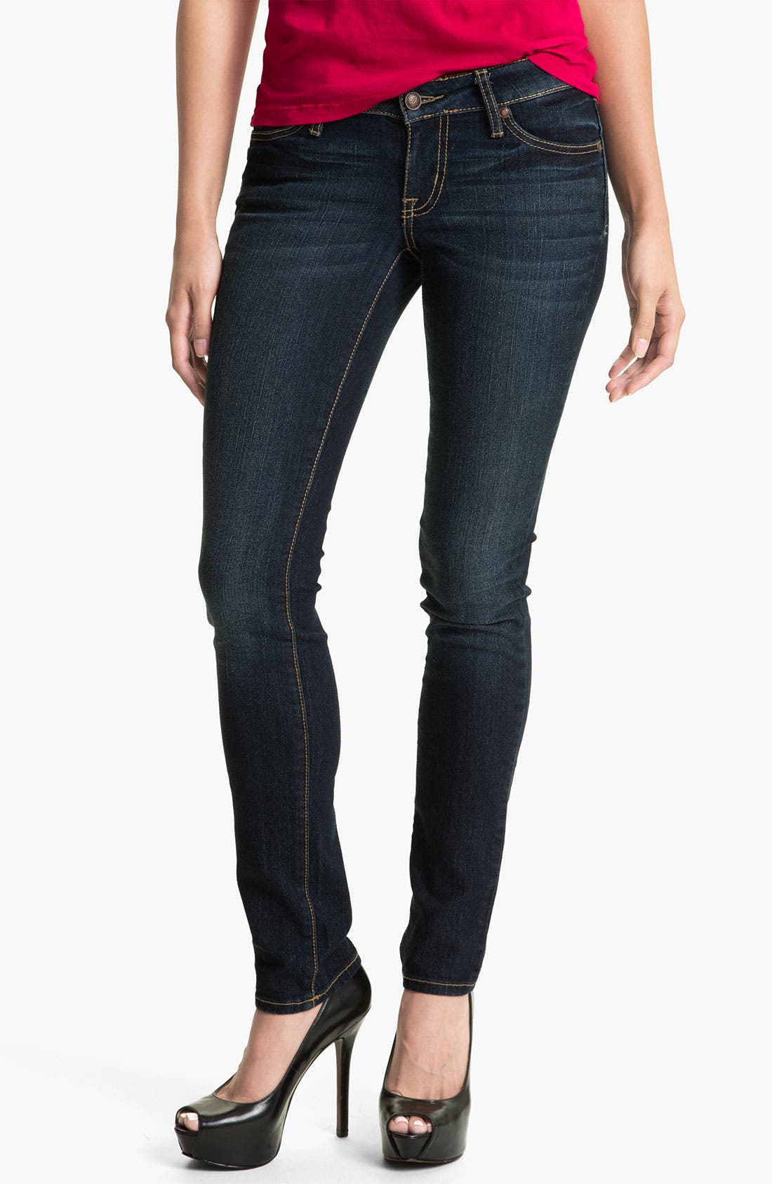 Main Image - Jessica Simpson 'Forever' Skinny Jeans (Online Only)