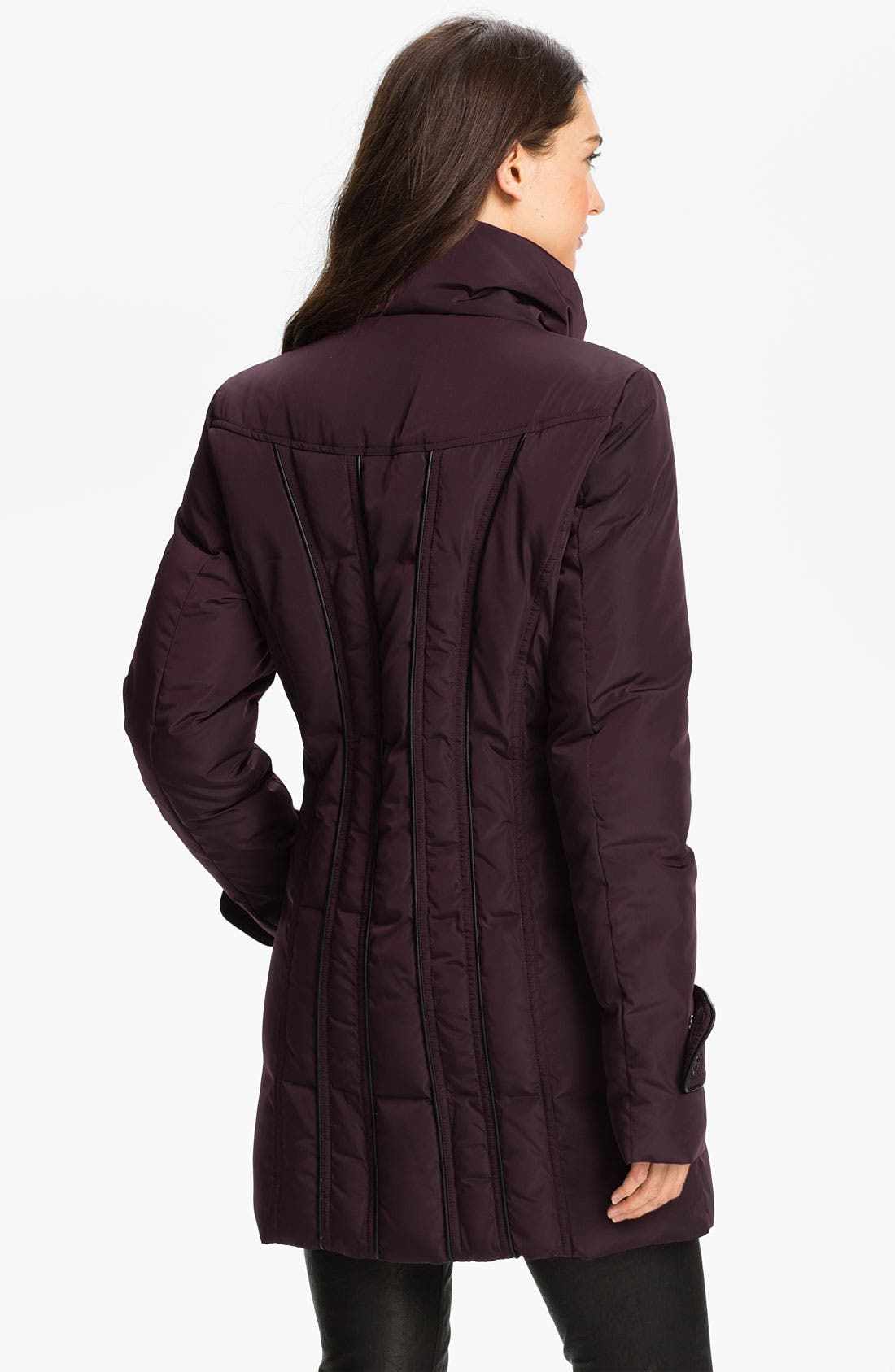 Alternate Image 2  - Calvin Klein Quilted Walking Coat