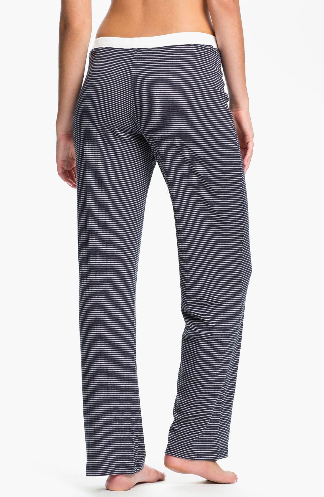 Alternate Image 2  - Lauren Ralph Lauren Sleepwear Knit Pants