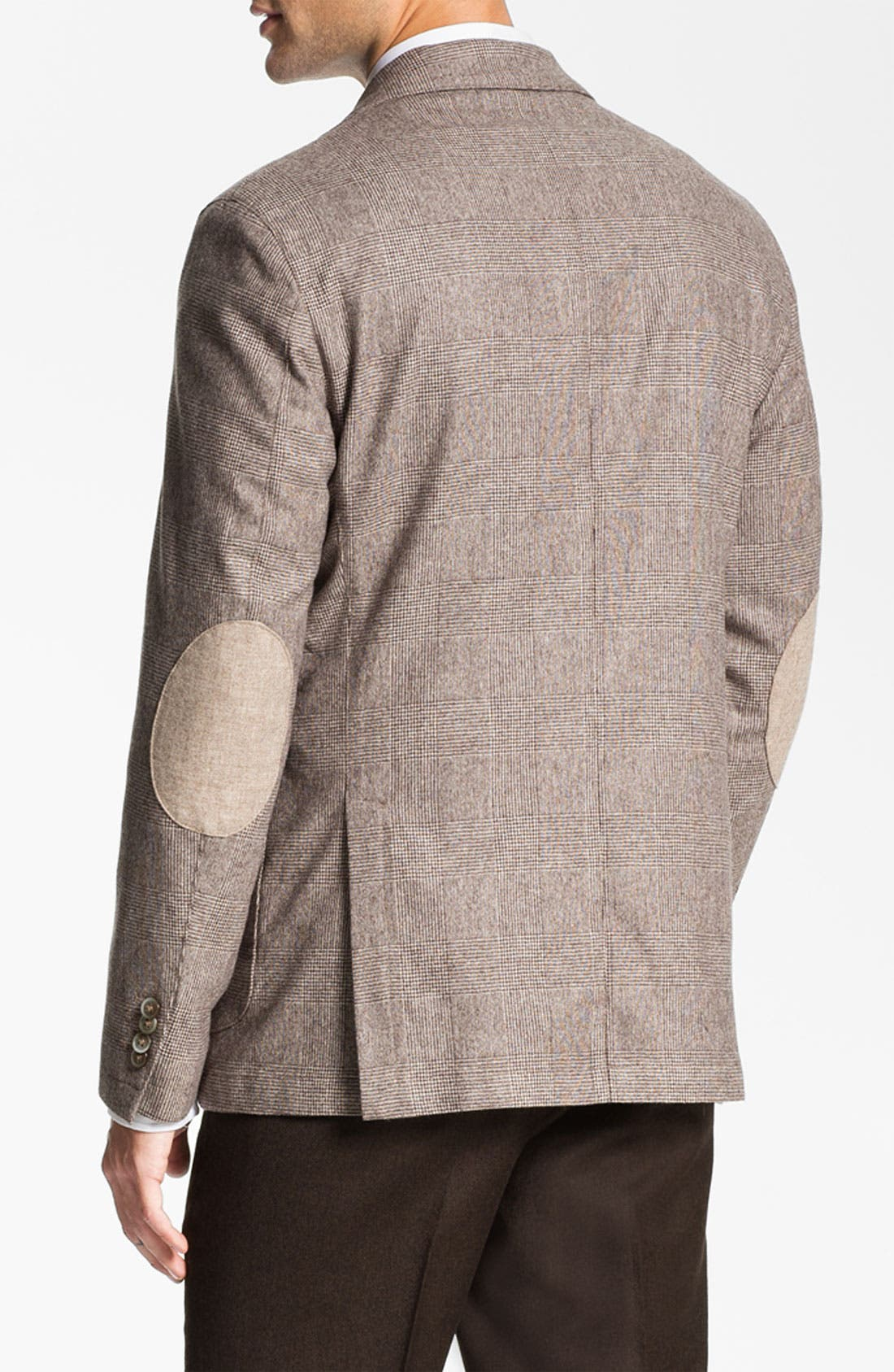 Alternate Image 2  - Lubiam 'Prince of Wales' Wool Sportcoat