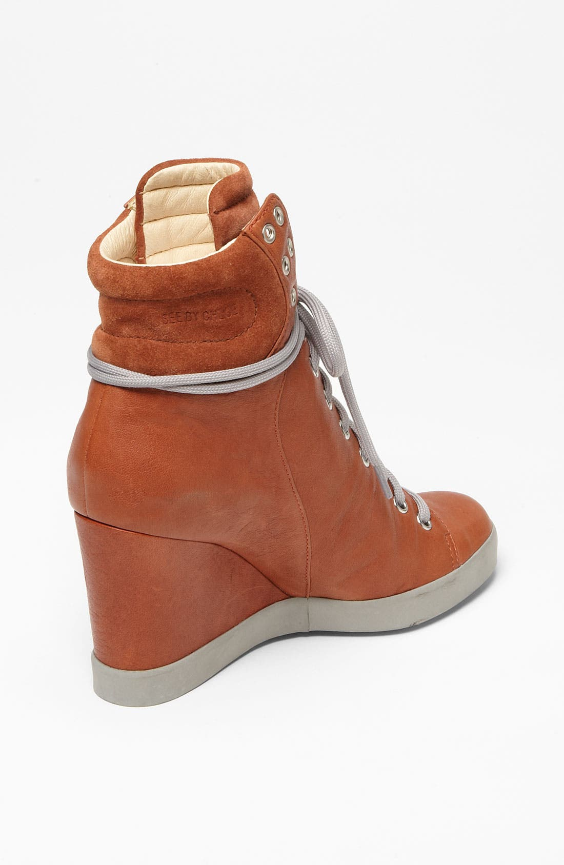 Alternate Image 2  - See by Chloé Wedge Sneaker