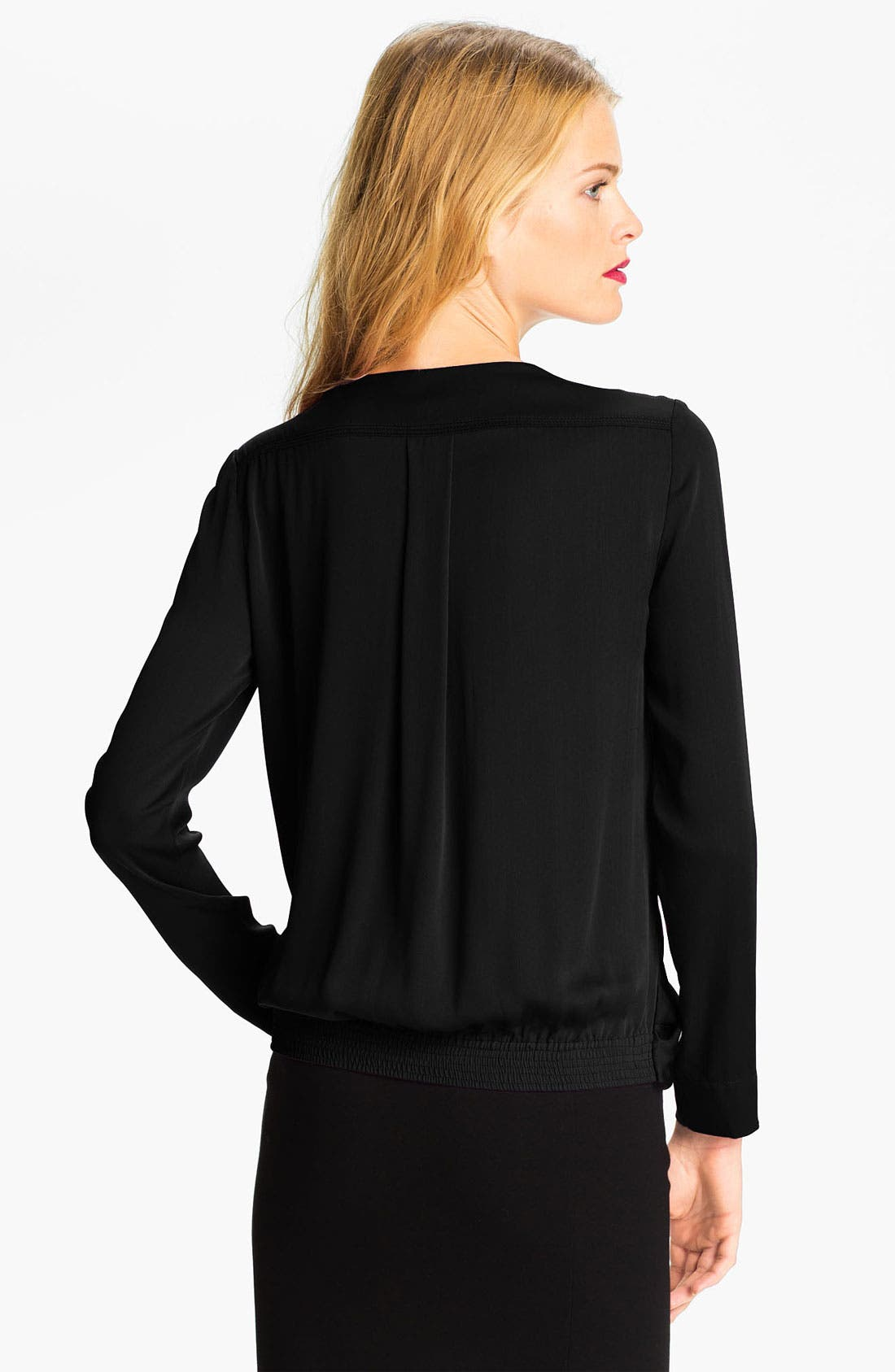 Alternate Image 2  - Diane von Furstenberg 'New Issie' Silk Blouse