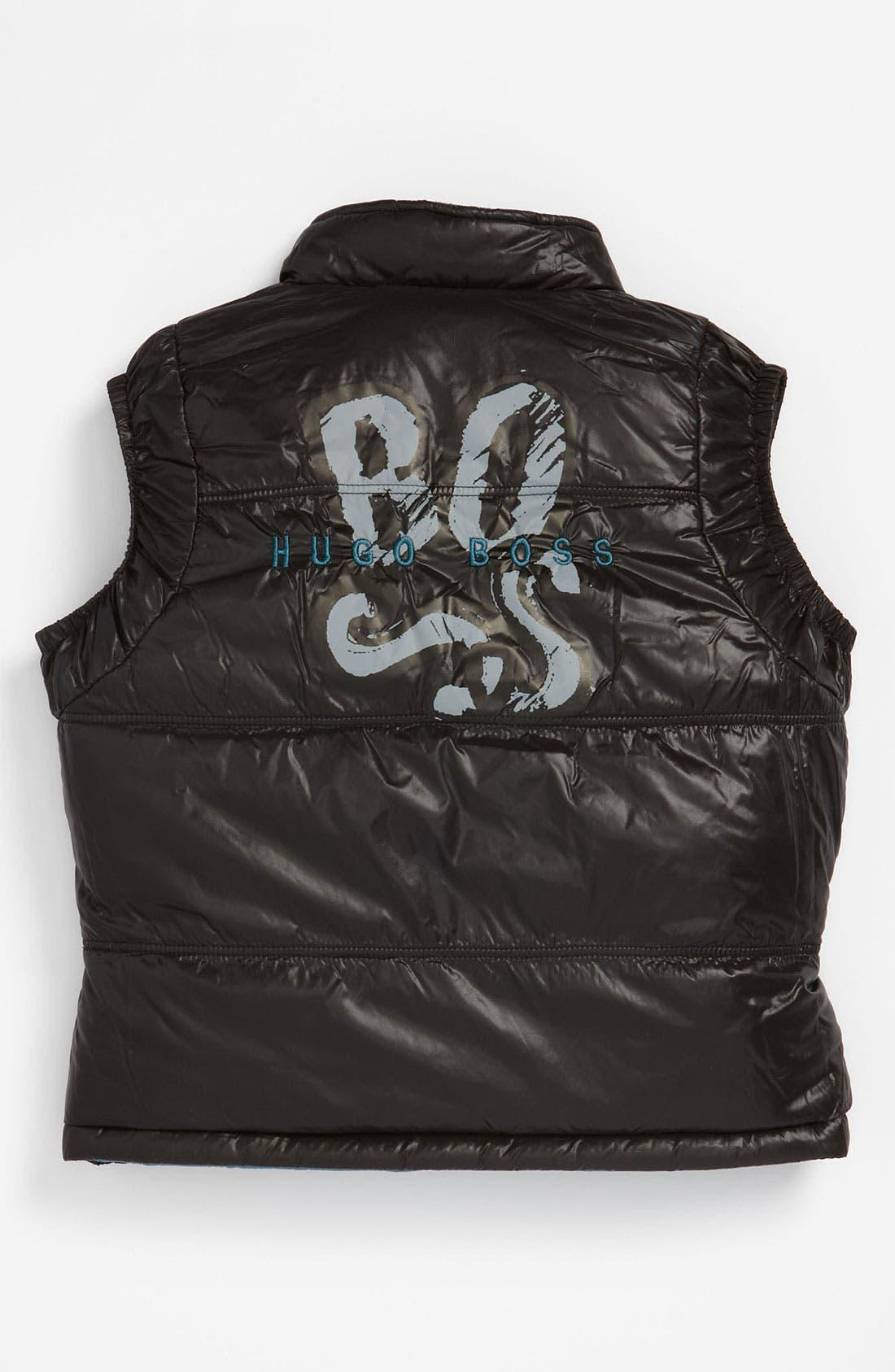 Alternate Image 3  - BOSS Kidswear Reversible Vest (Infant)