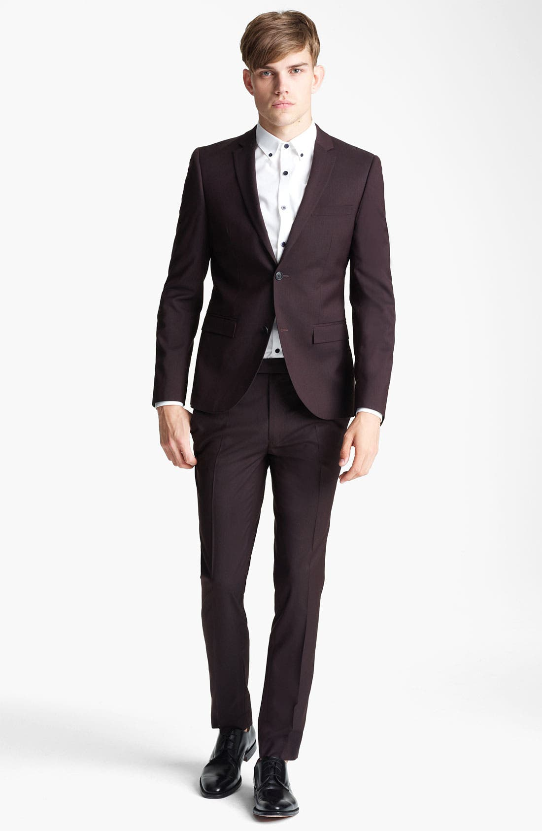 Alternate Image 4  - Topman Ultra Skinny Suit Jacket