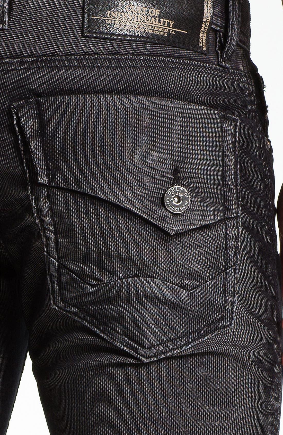 Alternate Image 3  - Cult of Individuality 'Harley' Straight Leg Corduroy Pants