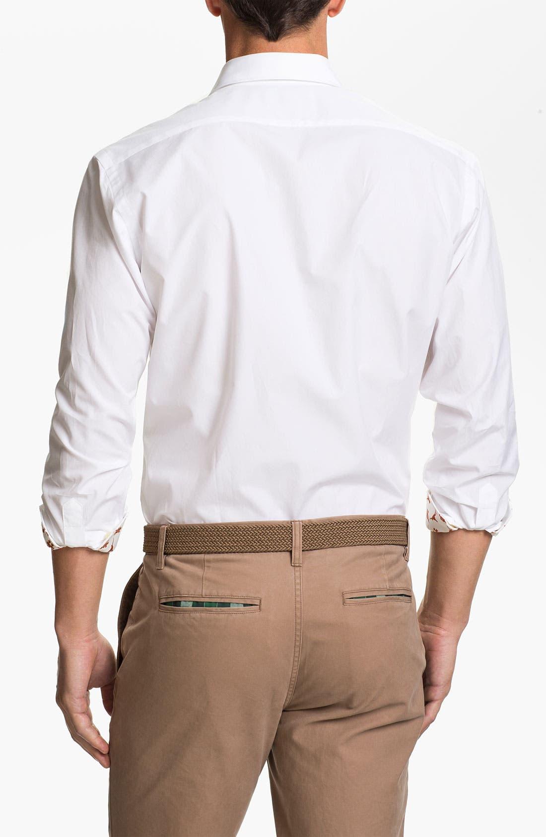 Alternate Image 2  - Thomas Dean 'University of Texas' Sport Shirt