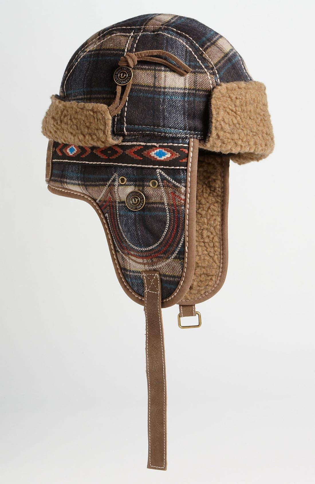 Main Image - True Religion Brand Jeans Check Trapper Hat