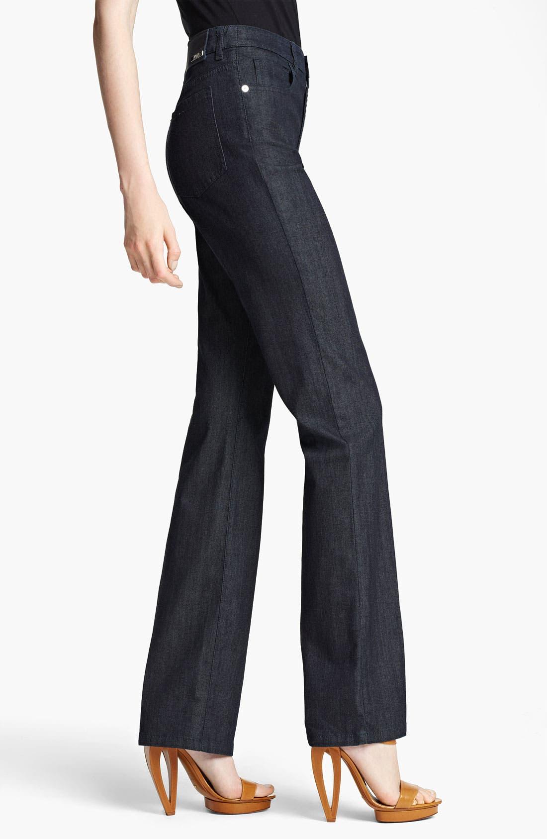 Alternate Image 3  - Armani Collezioni Straight Leg Stretch Jeans