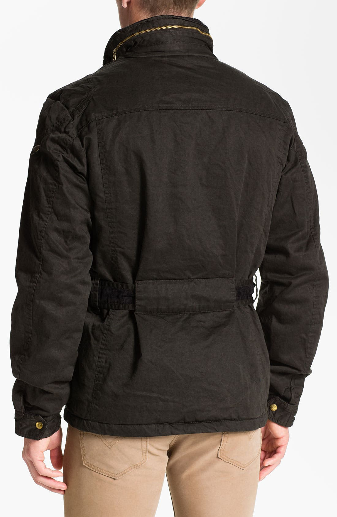 Alternate Image 2  - Scotch & Soda Wax Cotton Field Jacket