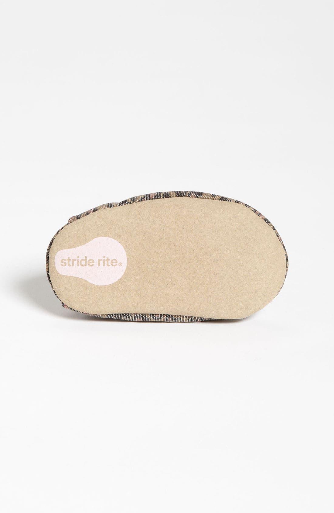 Alternate Image 4  - Stride Rite 'Lush Leopard' Crib Shoe (Baby)