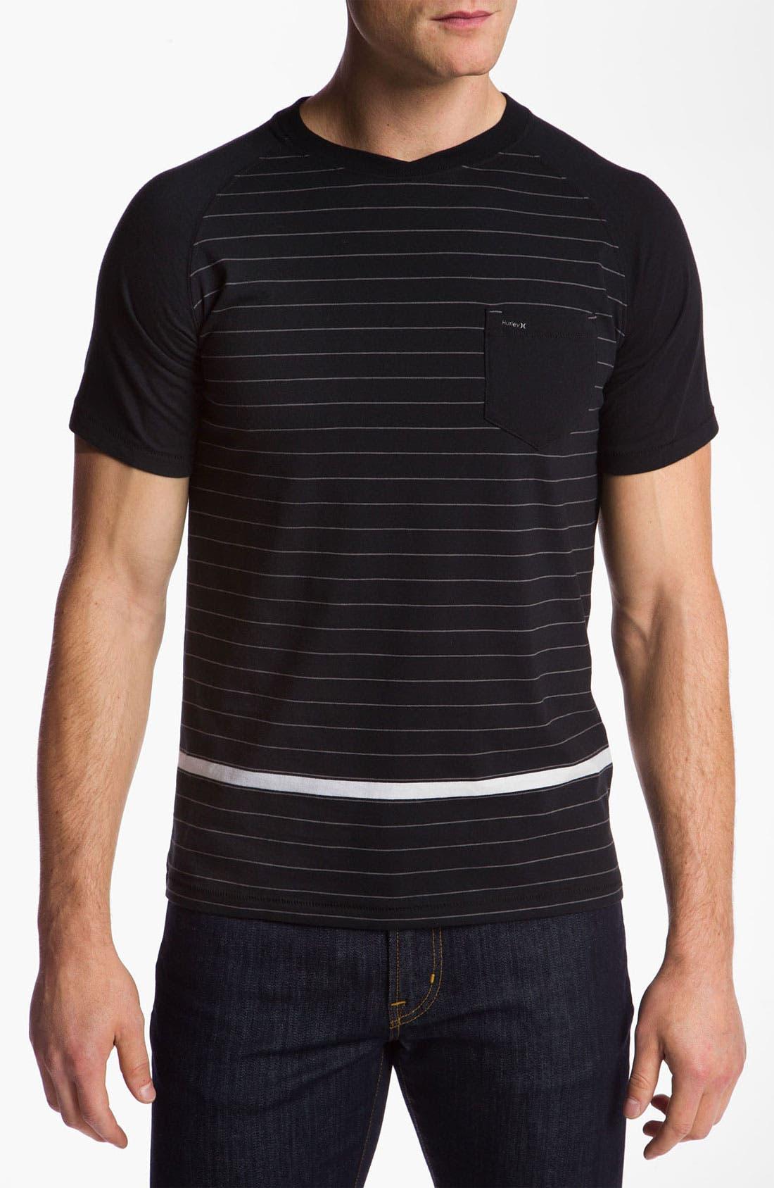 Alternate Image 1 Selected - Hurley 'Cycle' Crewneck T-Shirt