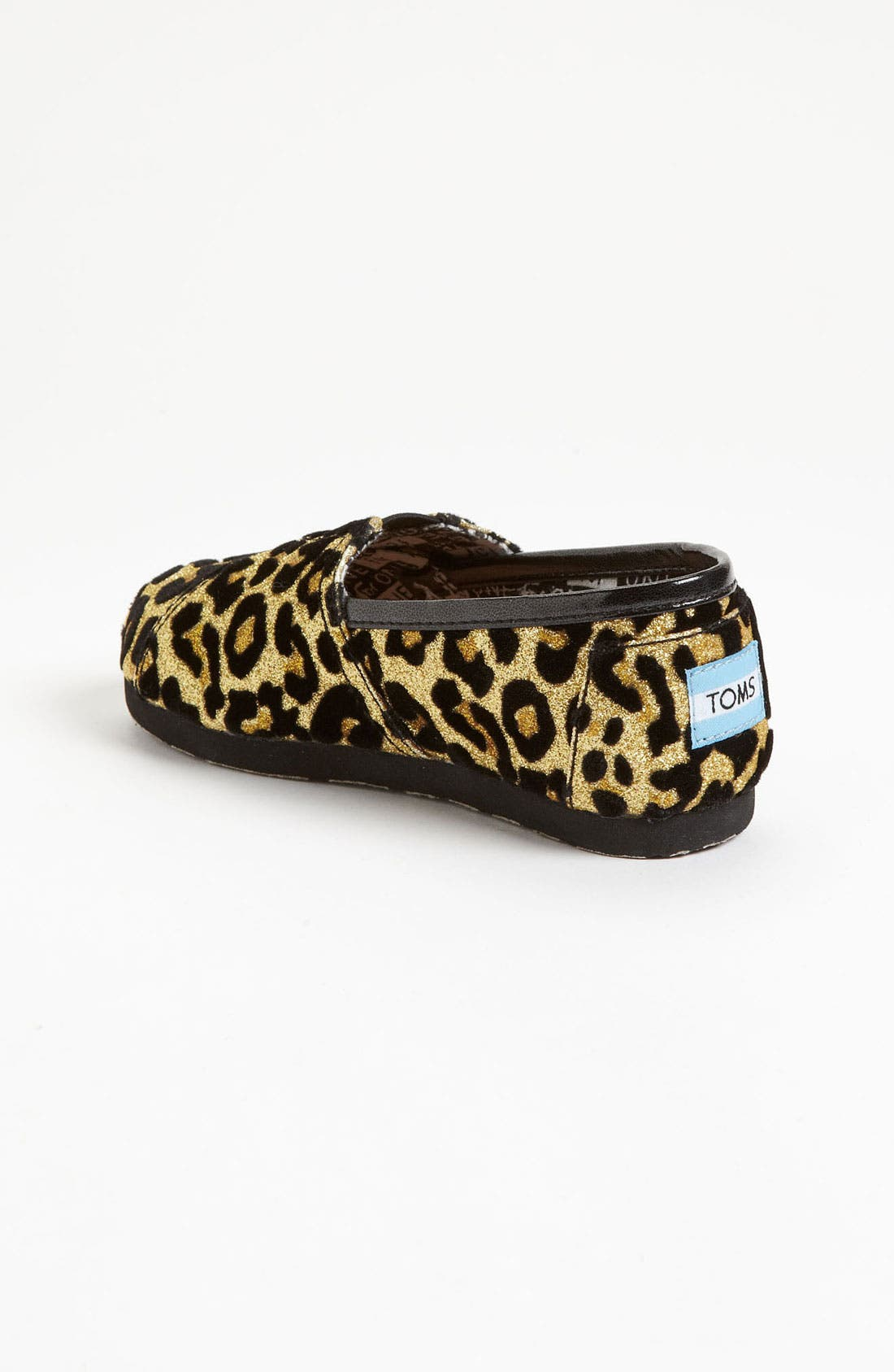 Alternate Image 2  - TOMS 'Classic Tiny - Glitter' Print Slip-On (Baby, Walker & Toddler)(Nordstrom Exclusive)