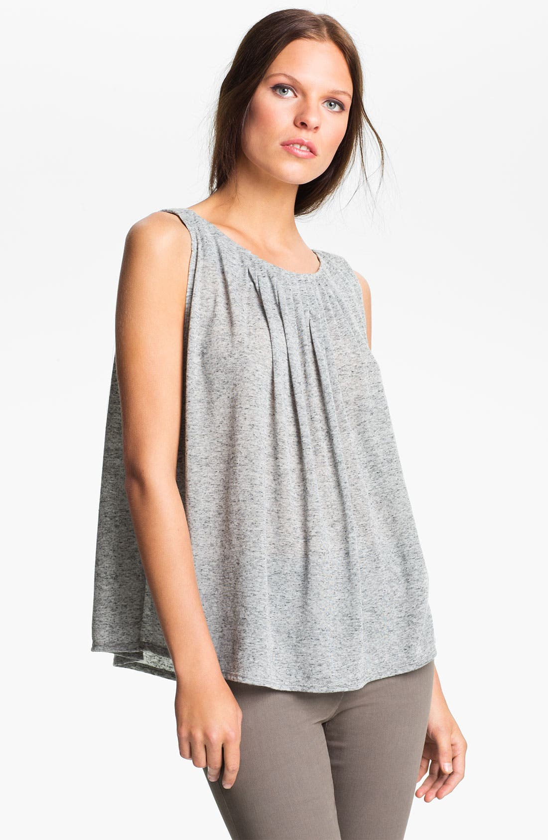 Main Image - Alice + Olivia Gathered Neck Tank