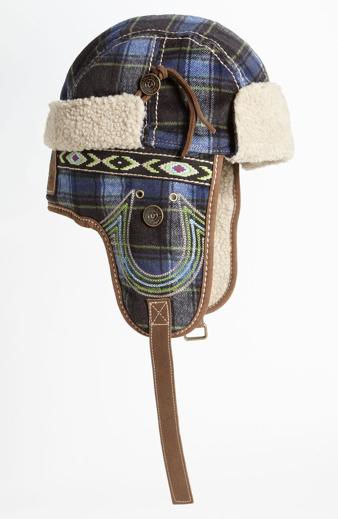 Alternate Image 1 Selected - True Religion Brand Jeans Check Trapper Hat