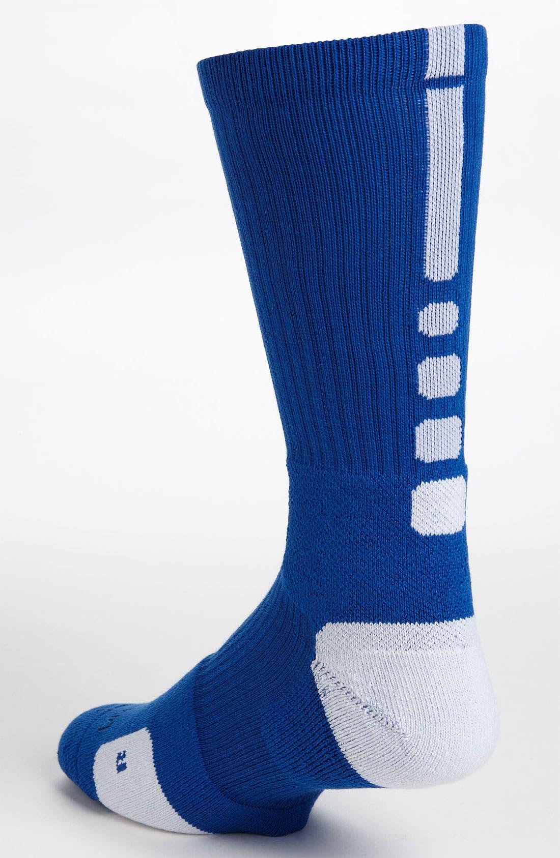 Alternate Image 2  - Nike 'Elite Basketball' Crew Socks