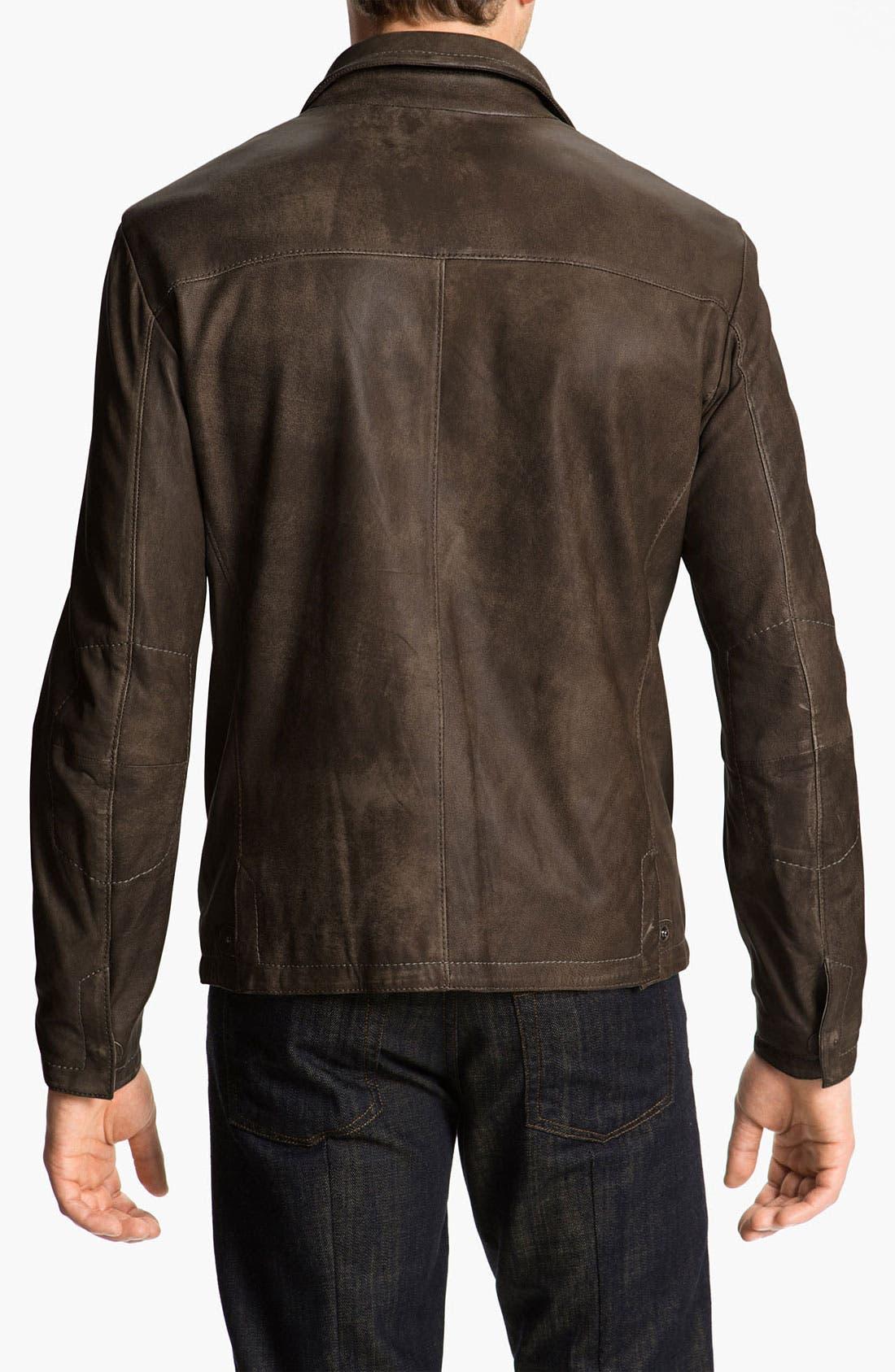 Alternate Image 2  - Gimo Leather Jacket