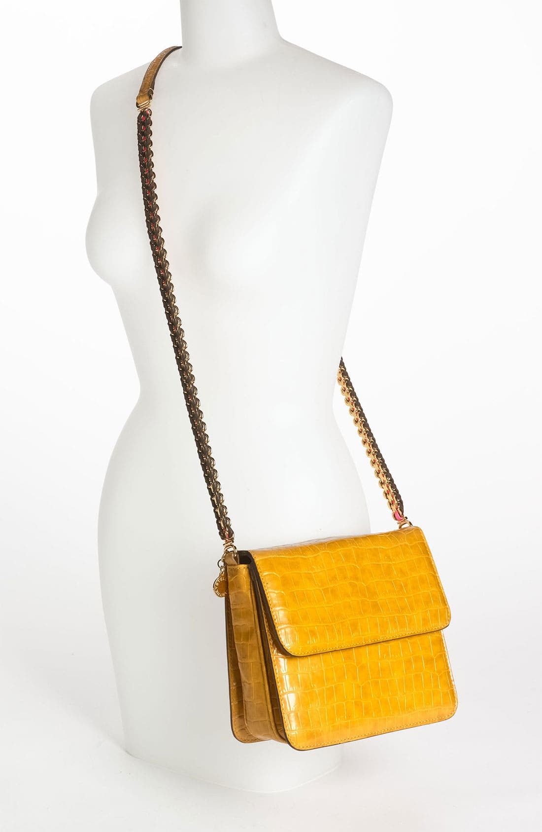 Alternate Image 2  - Stella McCartney Faux Croc Crossbody Bag