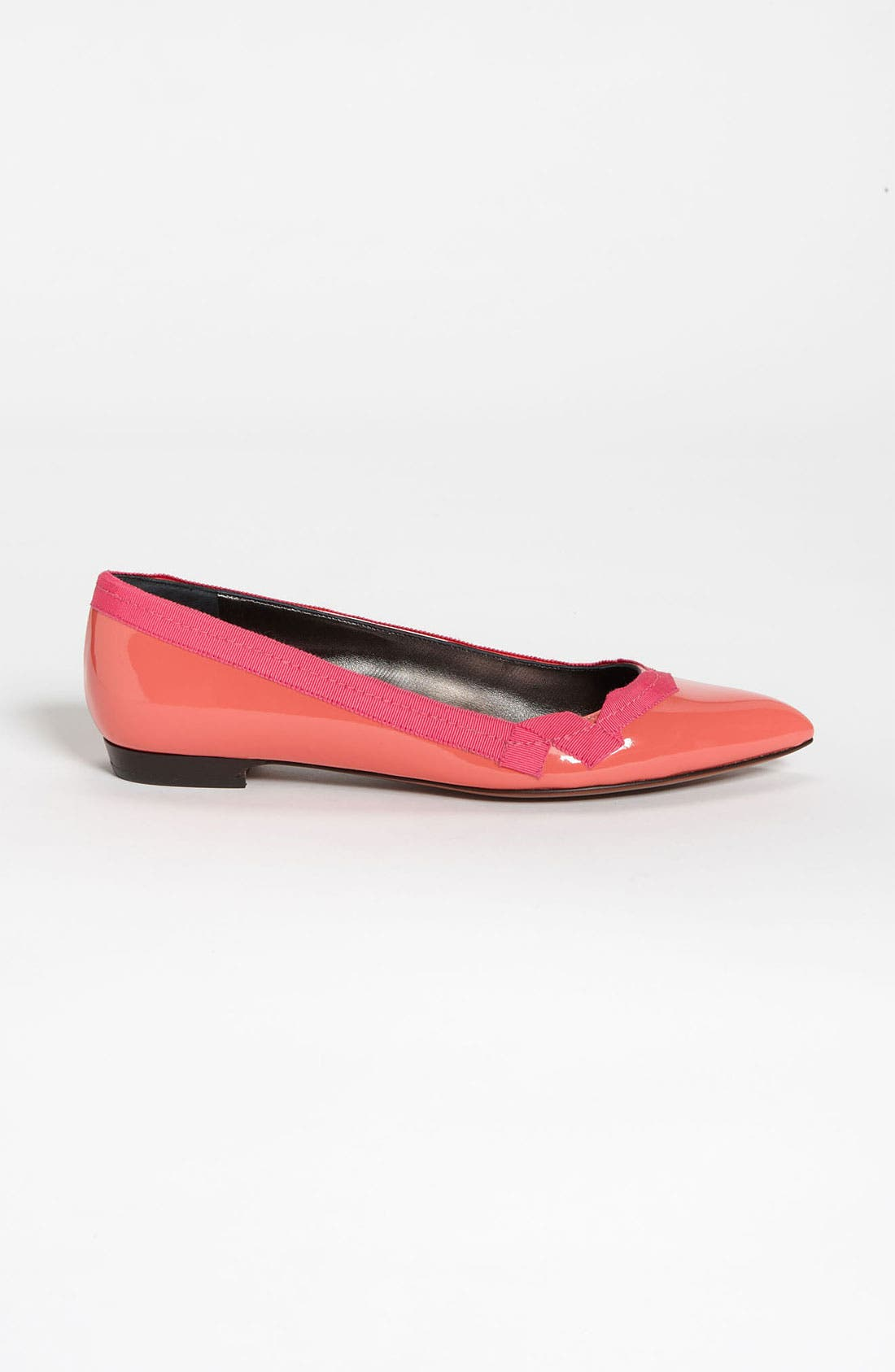 Alternate Image 4  - Lanvin Pointy Toe Grosgrain Flat