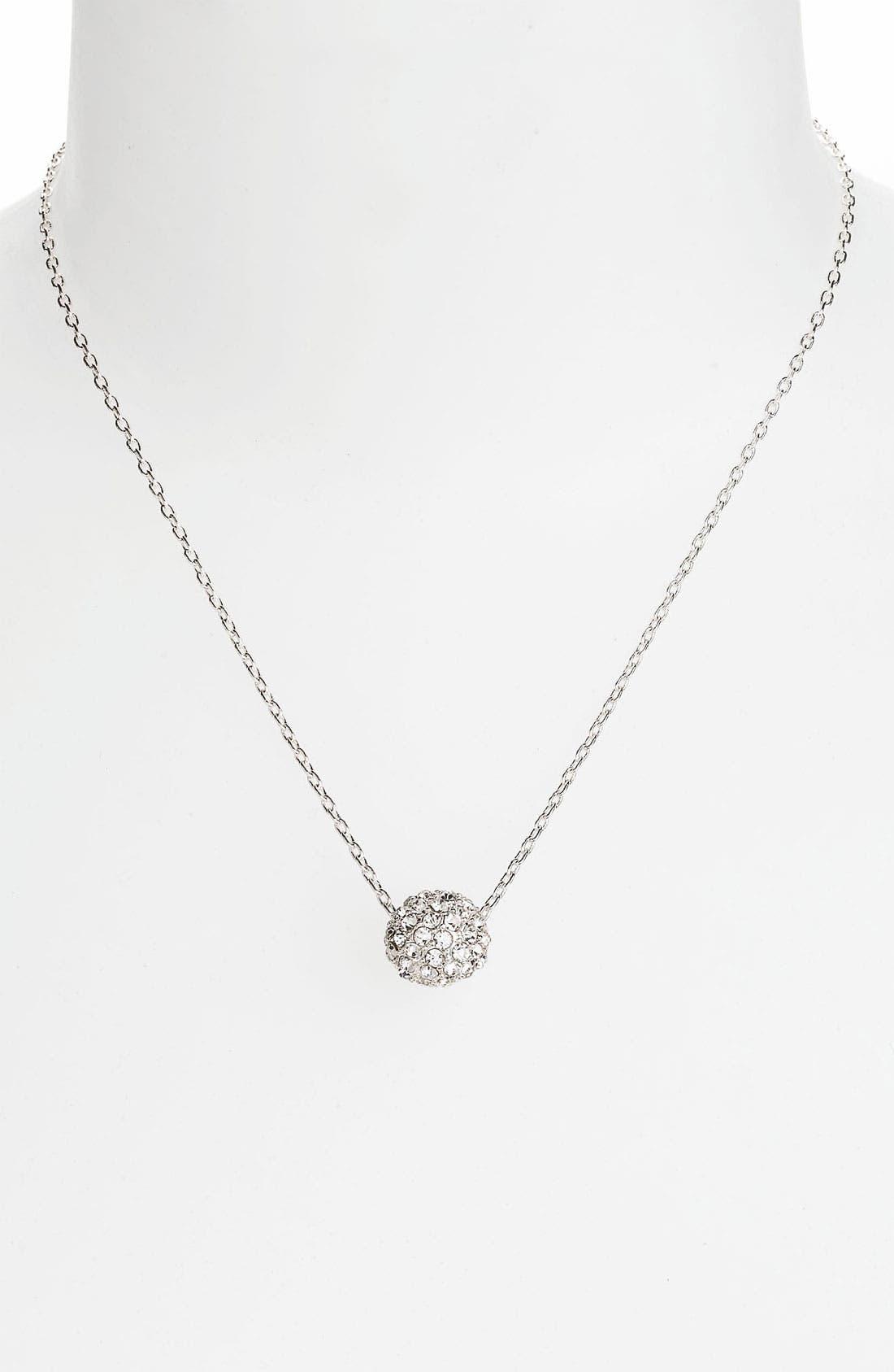 Main Image - Anne Klein Pendant Necklace