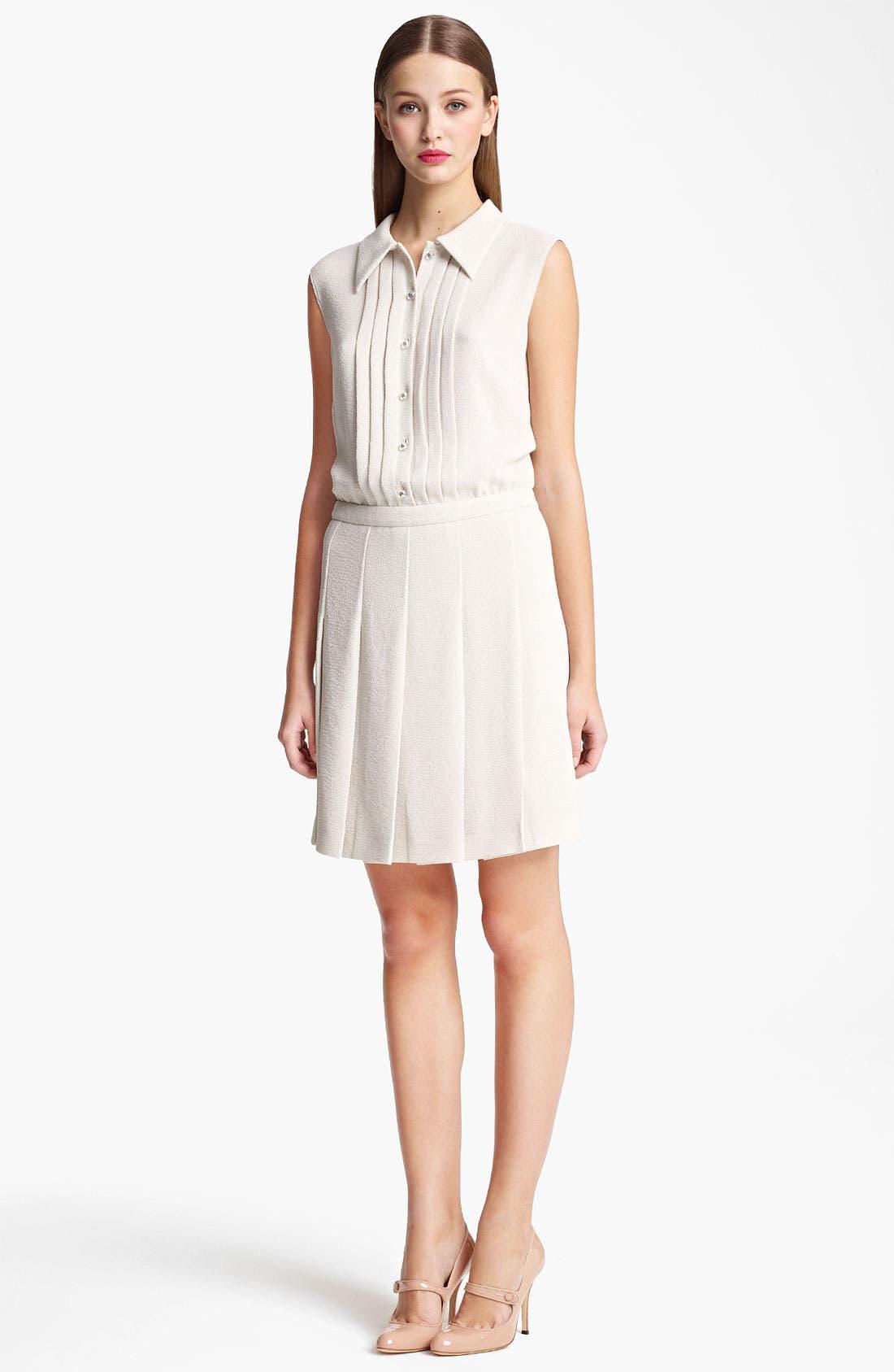 Main Image - Moschino Cheap & Chic Pleated Shirtdress