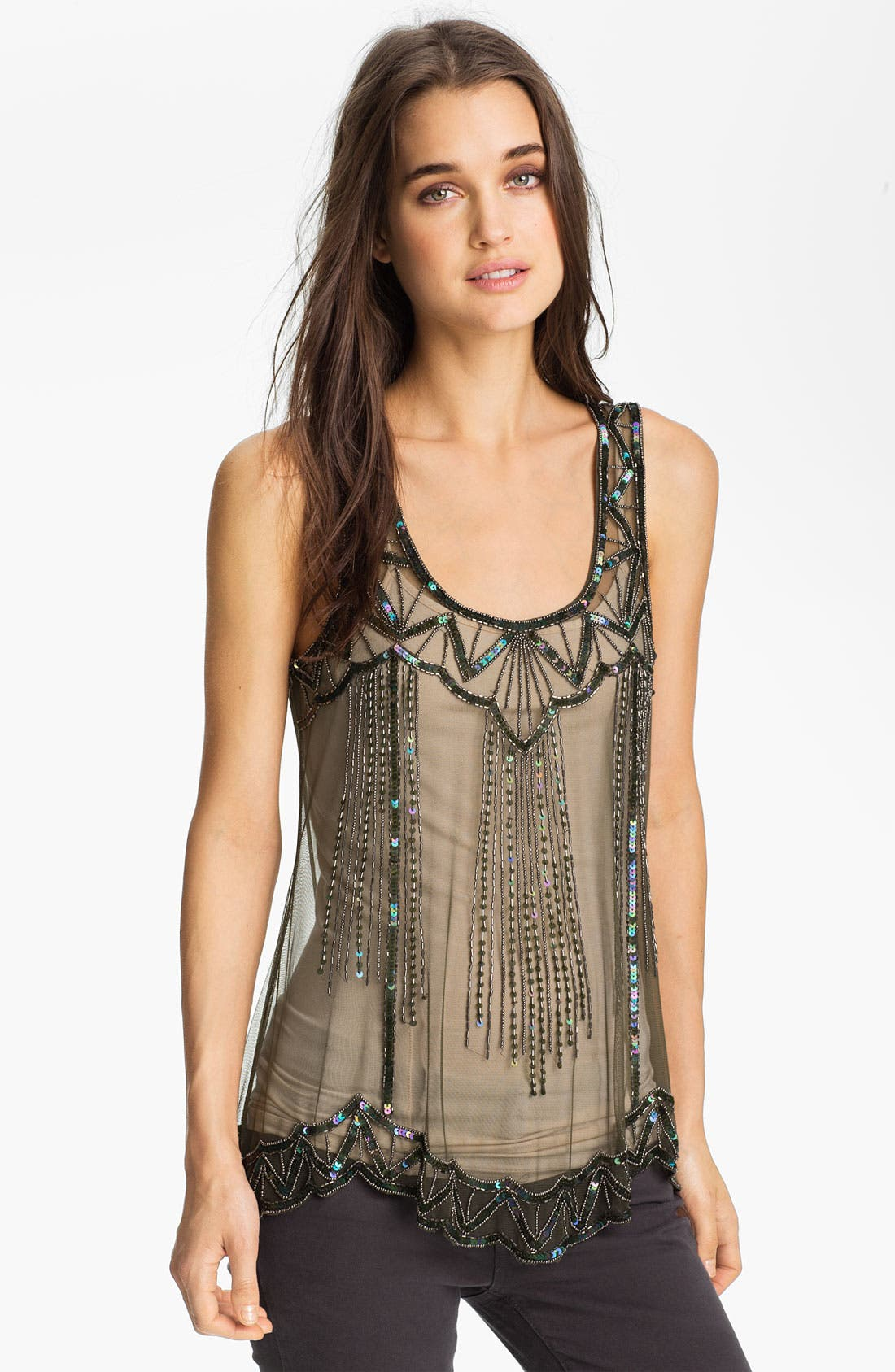 Main Image - Willow & Clay Embellished Tank