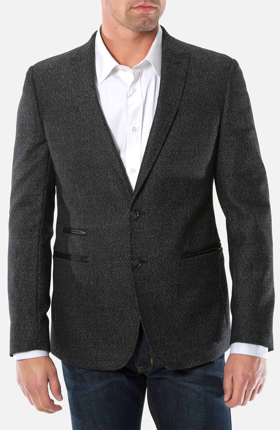 Main Image - 7 Diamonds 'Modena' Wool Blend Blazer