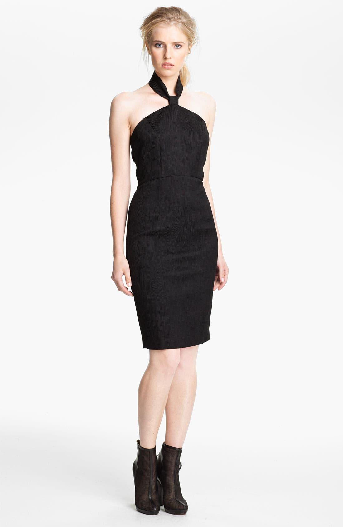 Alternate Image 1 Selected - Rachel Zoe 'Dree' Jacquard Halter Dress