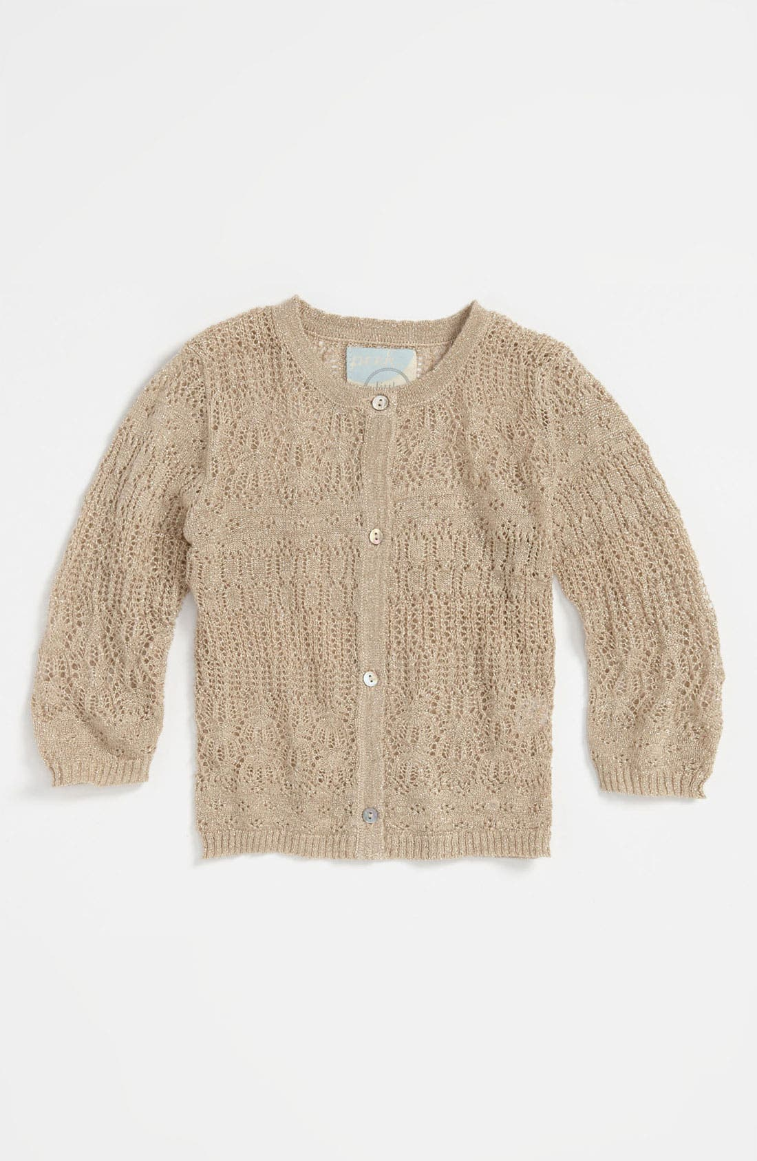 Alternate Image 1 Selected - Peek 'Fontaine' Cardigan (Infant)