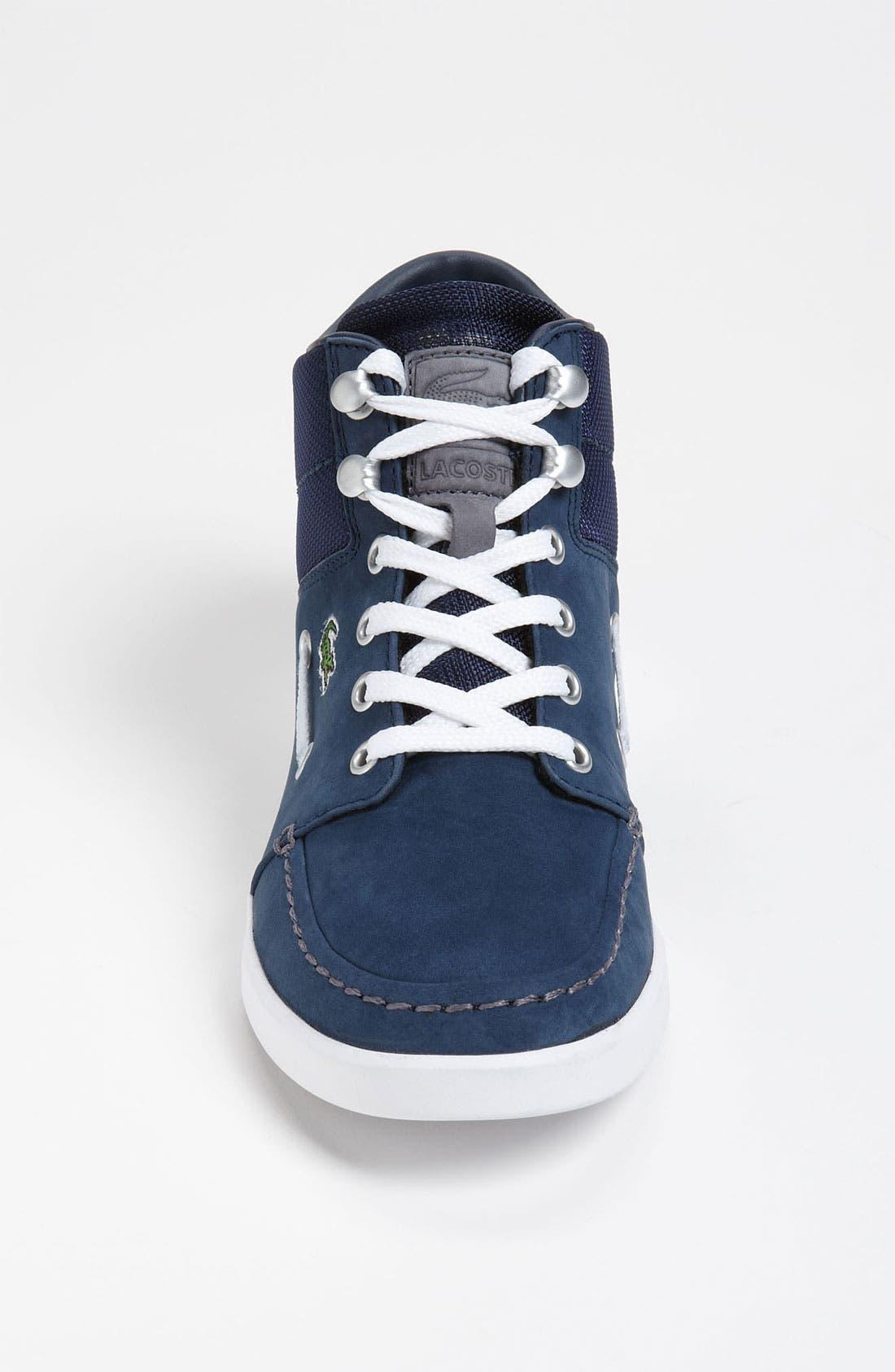 Alternate Image 3  - Lacoste 'Crosier Sail Mid' Sneaker