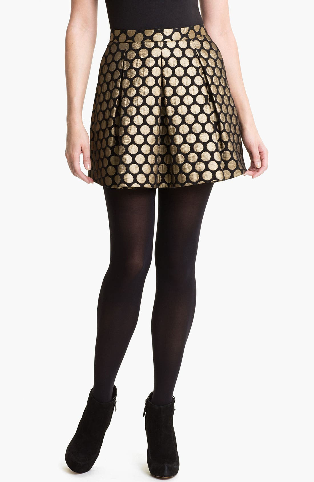 Alternate Image 1 Selected - Vince Camuto Dotted Jacquard Skirt
