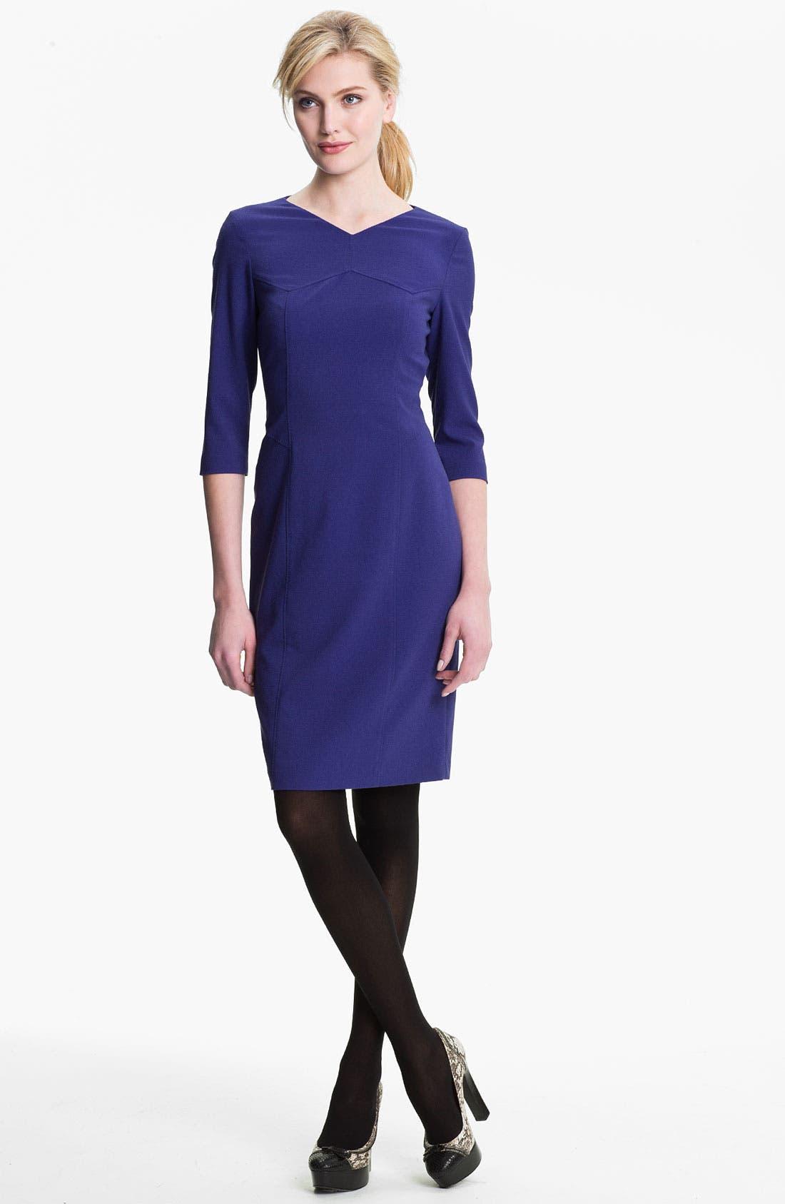 Alternate Image 1 Selected - BOSS Black 'Daslana' Sheath Dress