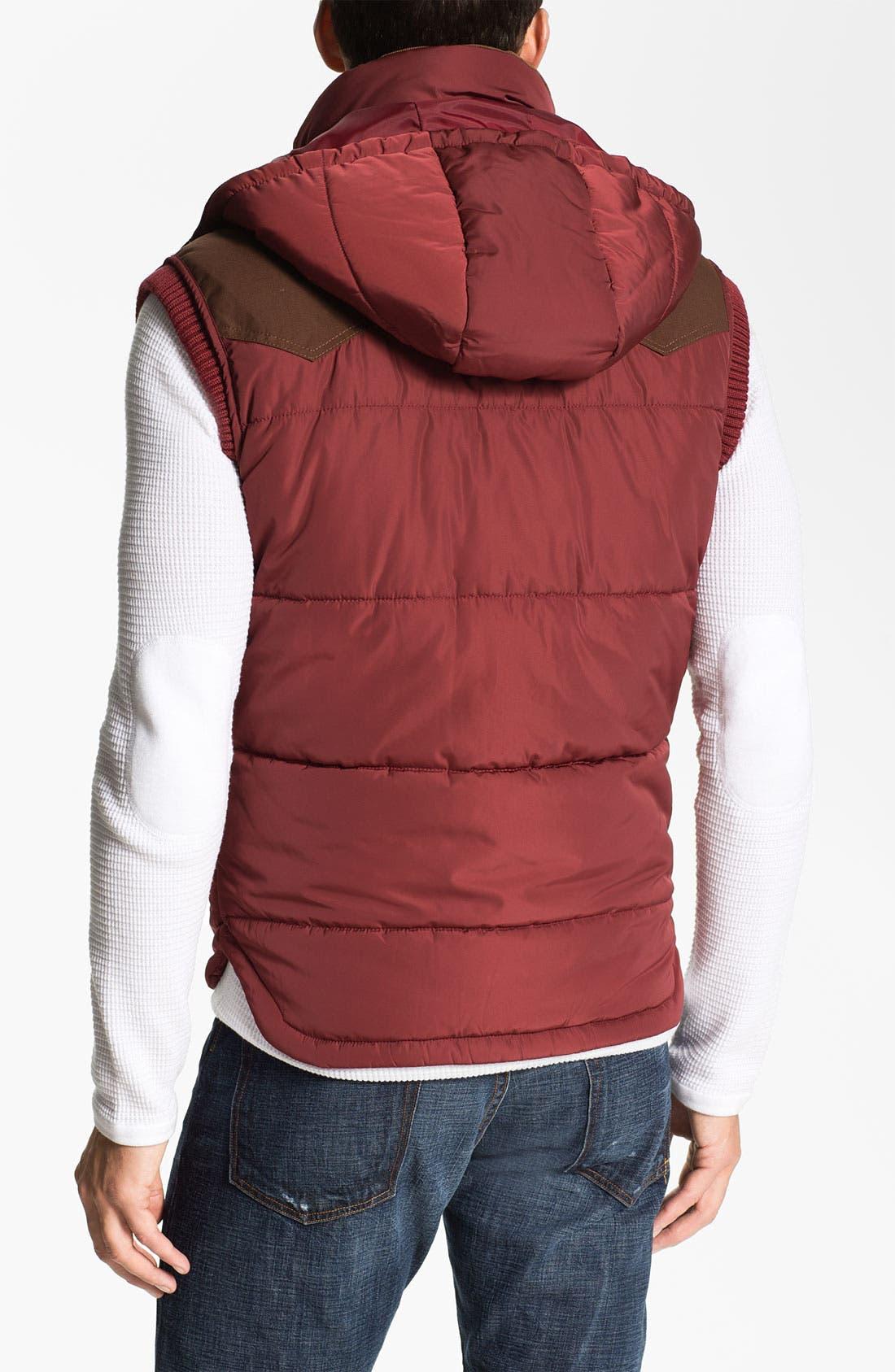 Alternate Image 2  - DIESEL® 'Wilfrid' Quilted Vest