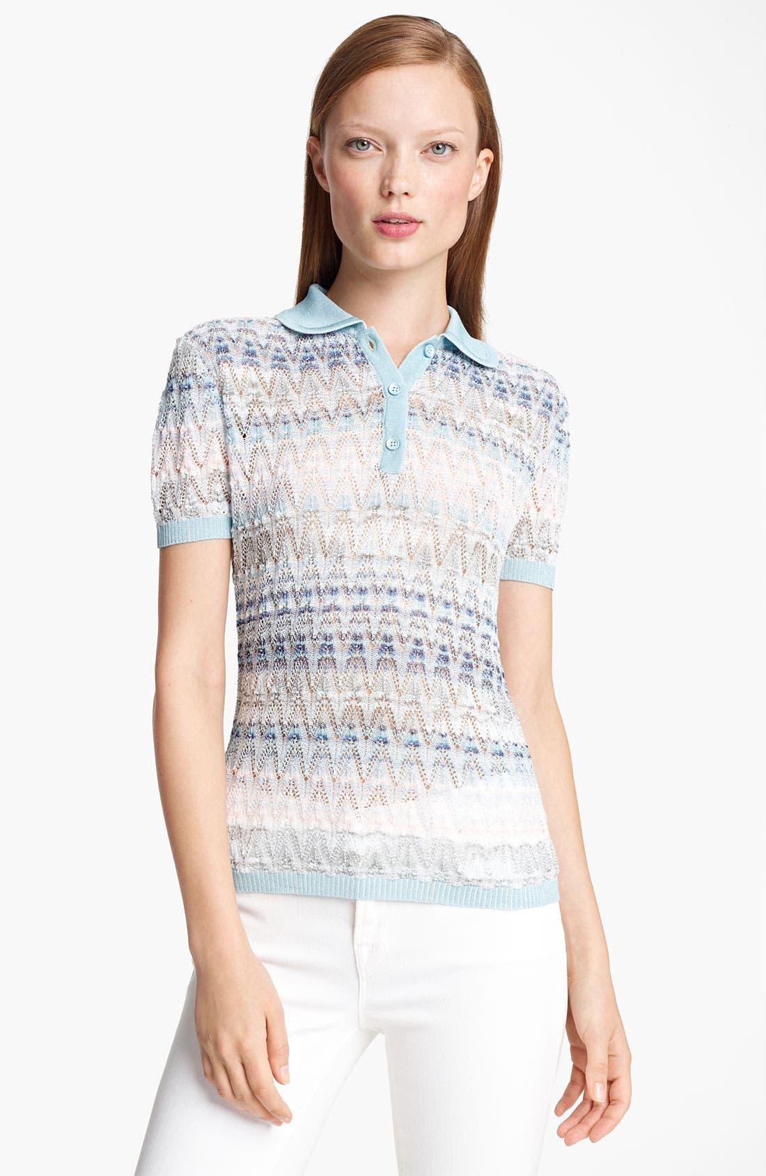 Main Image - Missoni Short Sleeve Polo