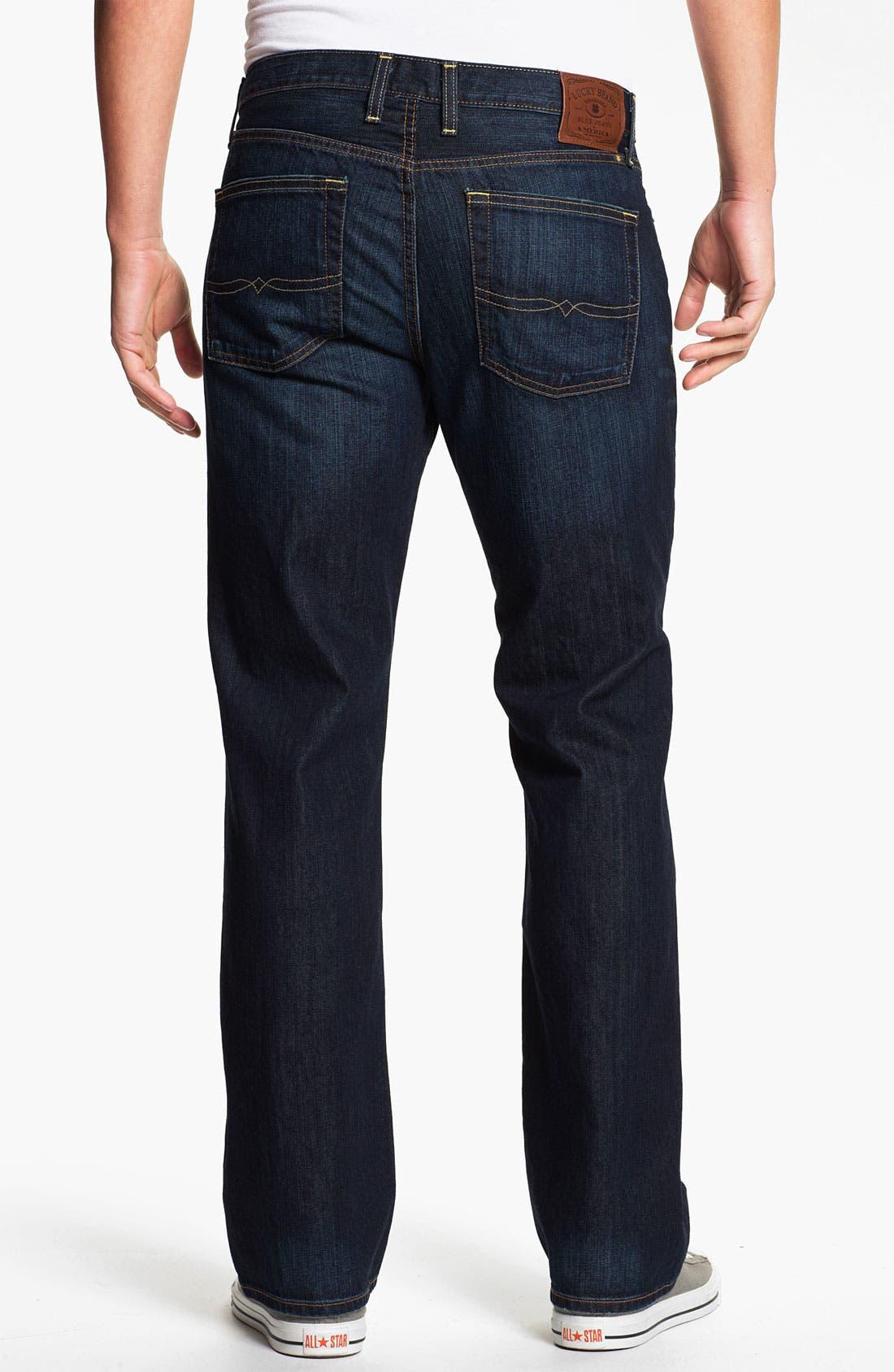 Alternate Image 2  - Lucky Brand '361 Vintage' Straight Leg Jeans (Ol' Oklahoma)
