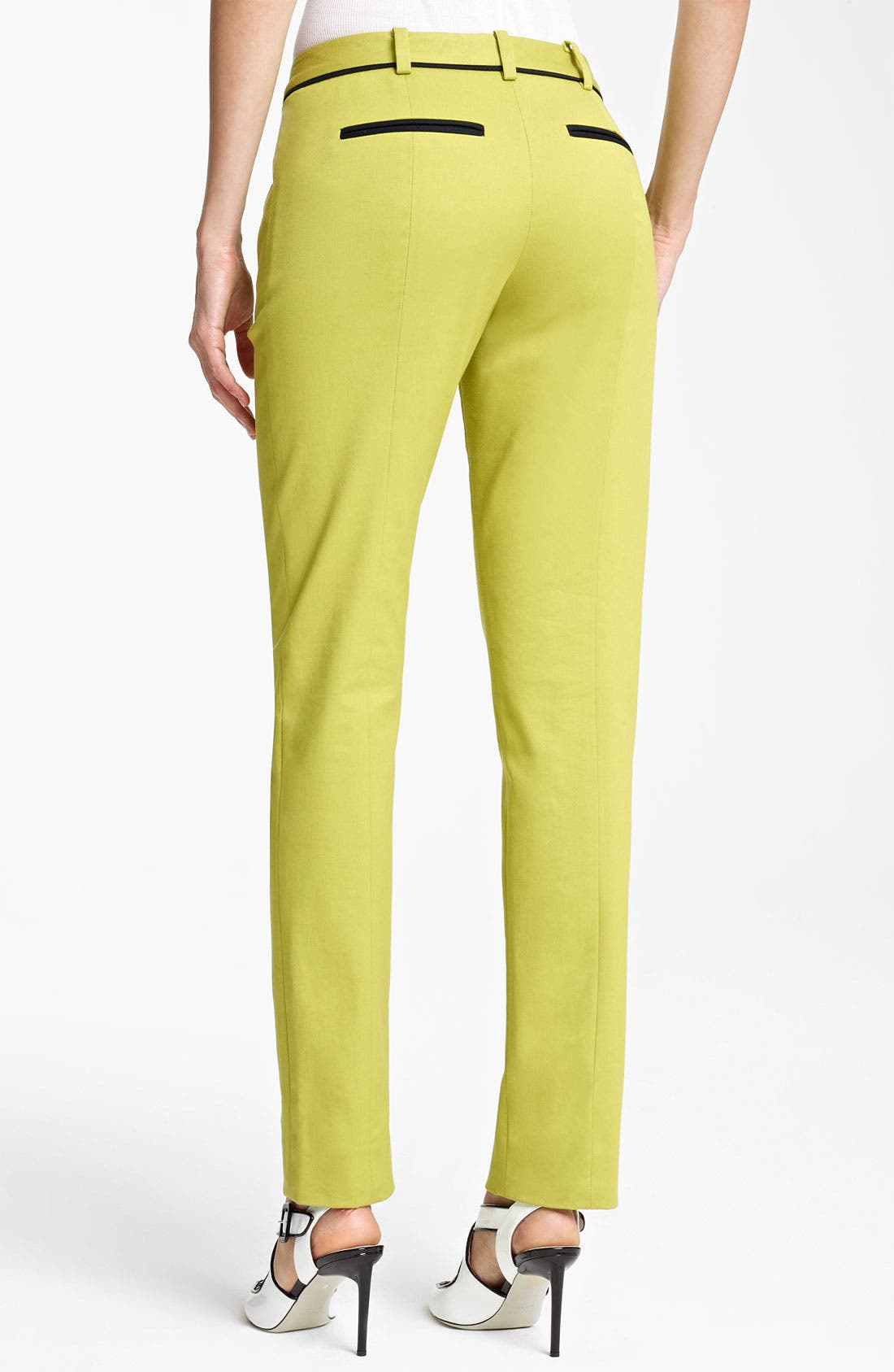 Alternate Image 2  - Jason Wu Cotton Twill Pants