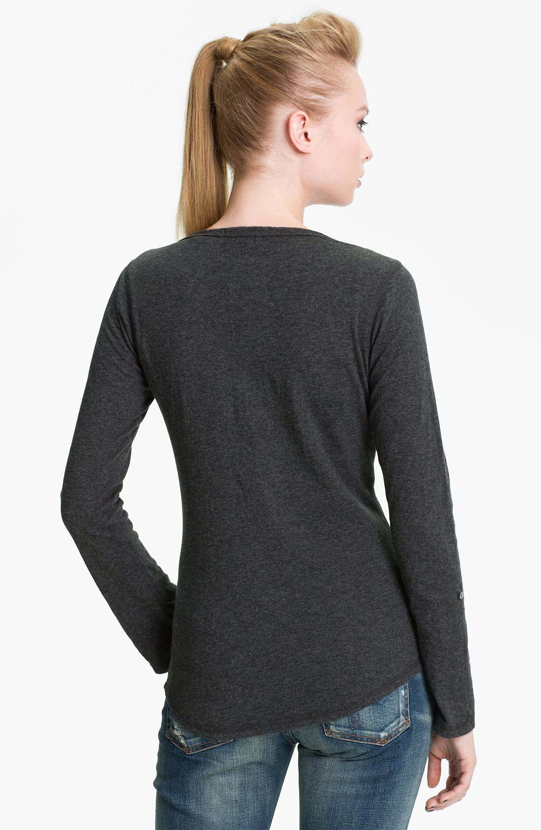 Alternate Image 2  - Maison Scotch Henley Tee