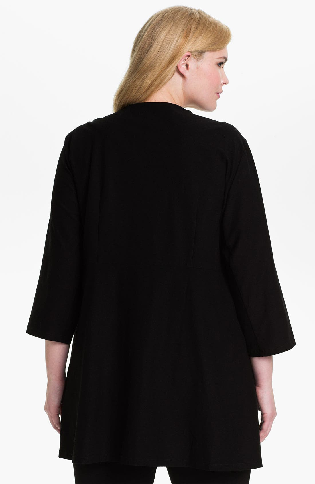 Alternate Image 2  - Eileen Fisher Tunic Jacket (Plus)
