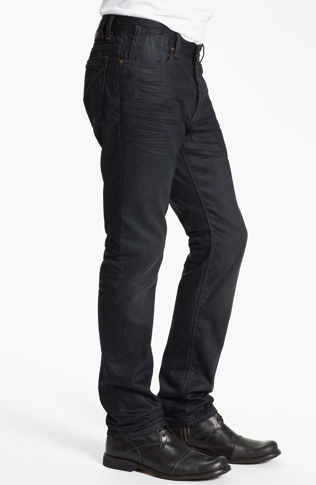 Alternate Image 3  - John Varvatos Star USA 'Bowery Ardmore' Slim Straight Leg Jeans
